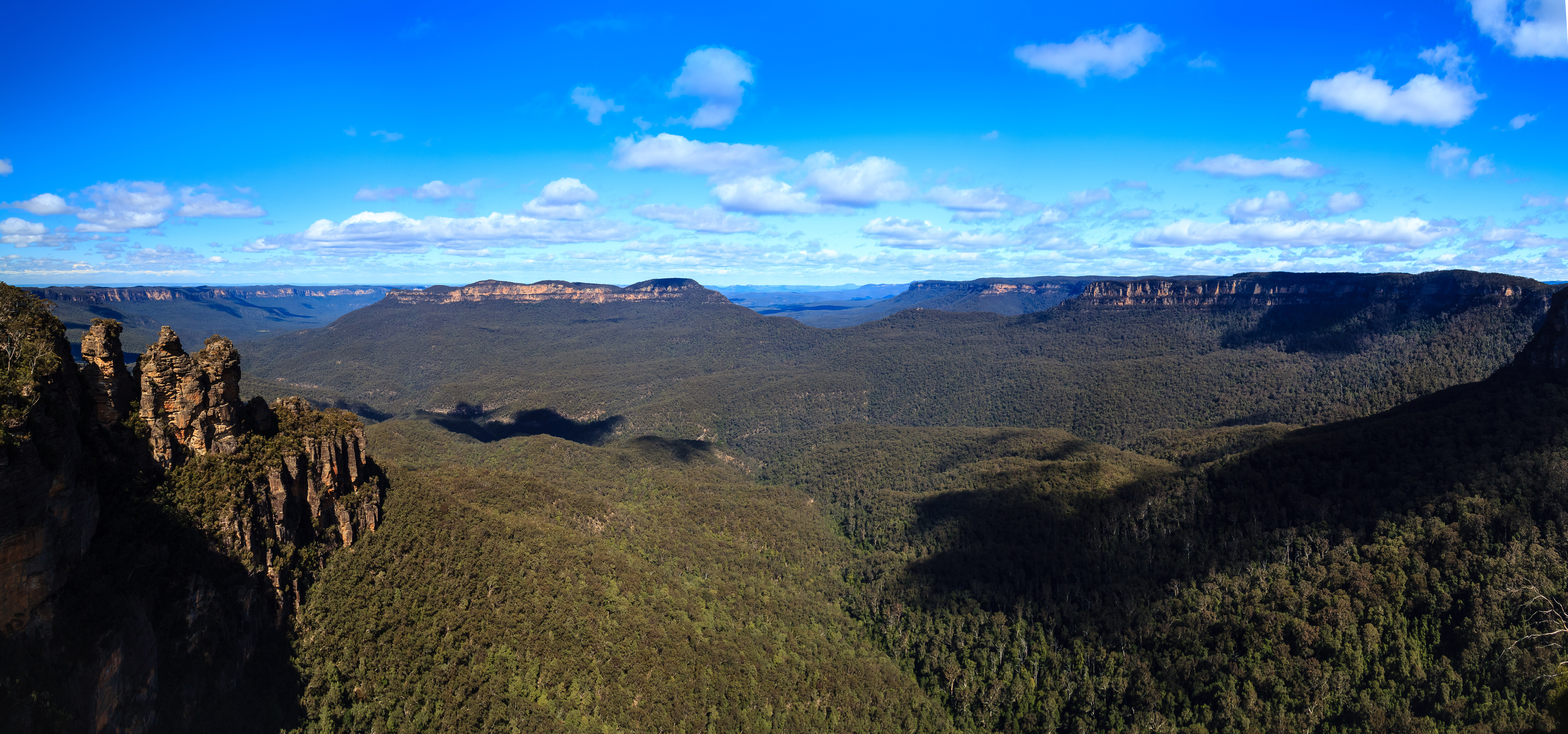 Blue mountains landscape in kamtoomba new south wales for South australia landscape