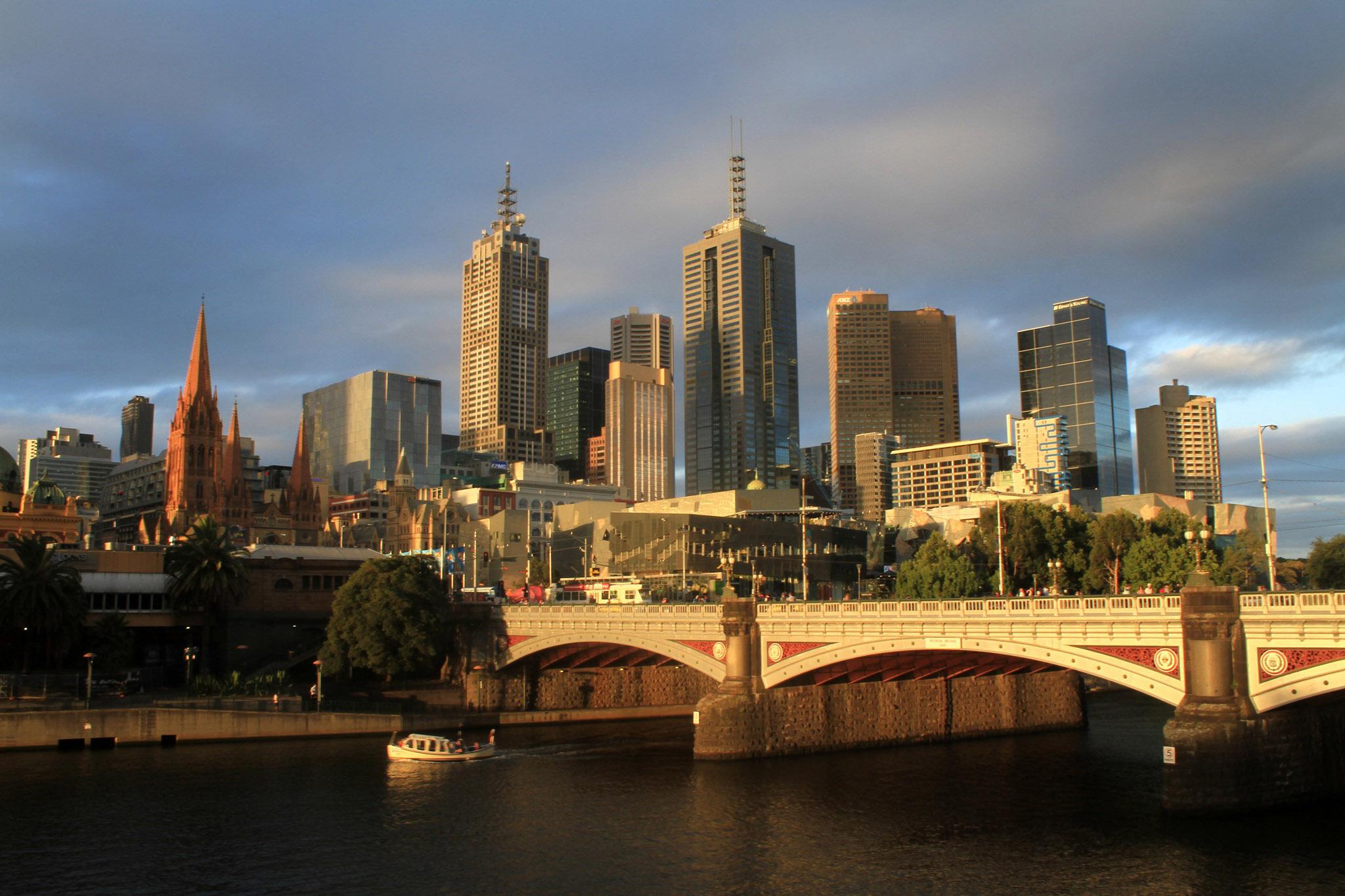 image of Melbourne summer