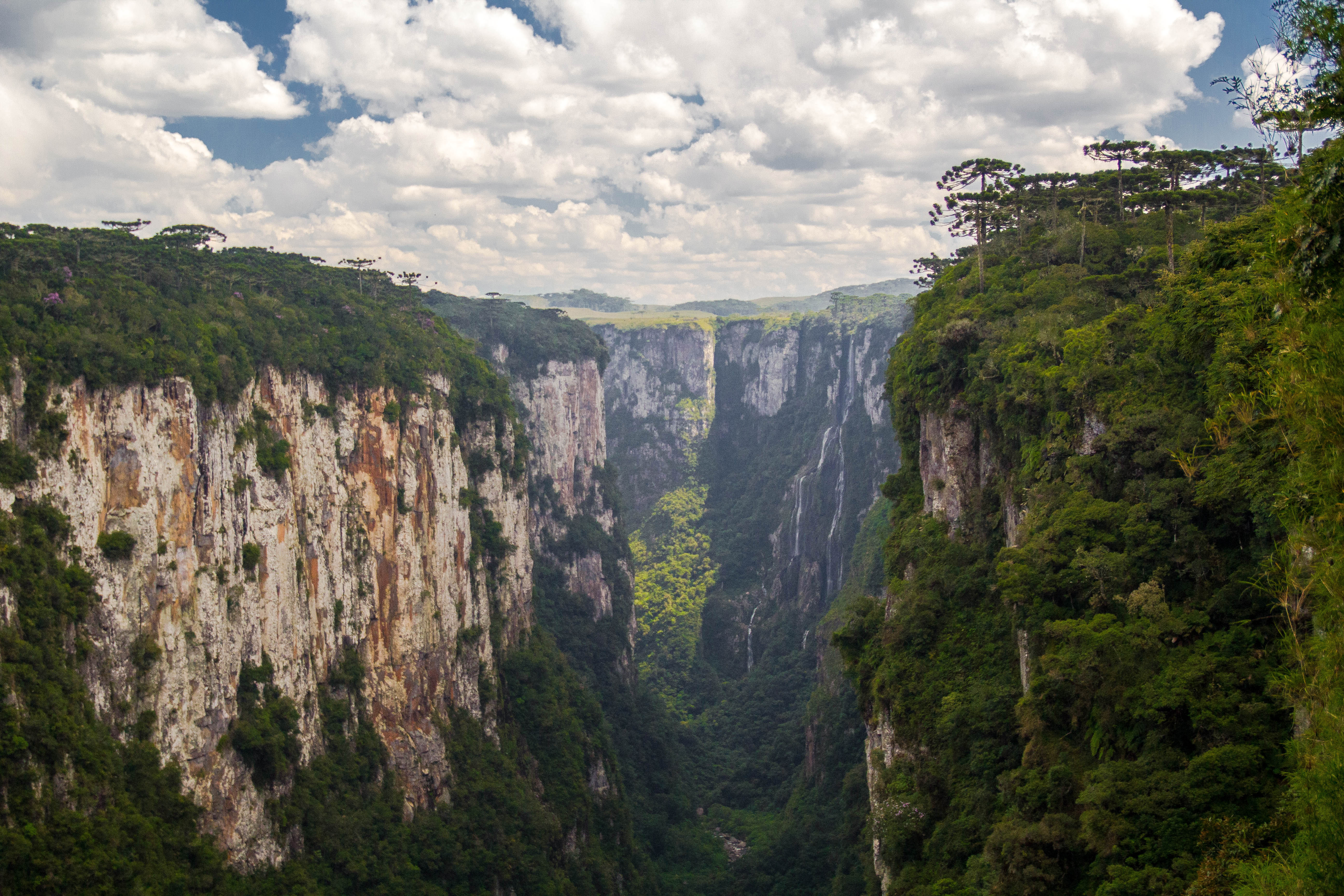 Canyon Landscape In Brazil With Clouds Image Free Stock Photo Public Domain Photo Cc0 Images