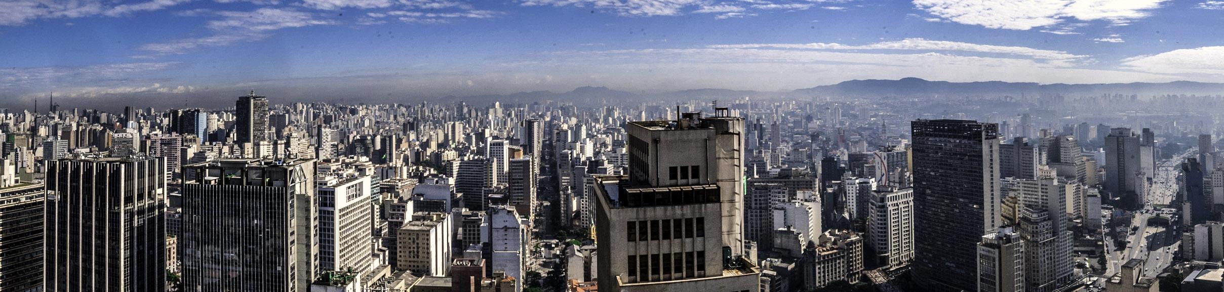 Panorama São Paulo fonte: www.goodfreephotos.com