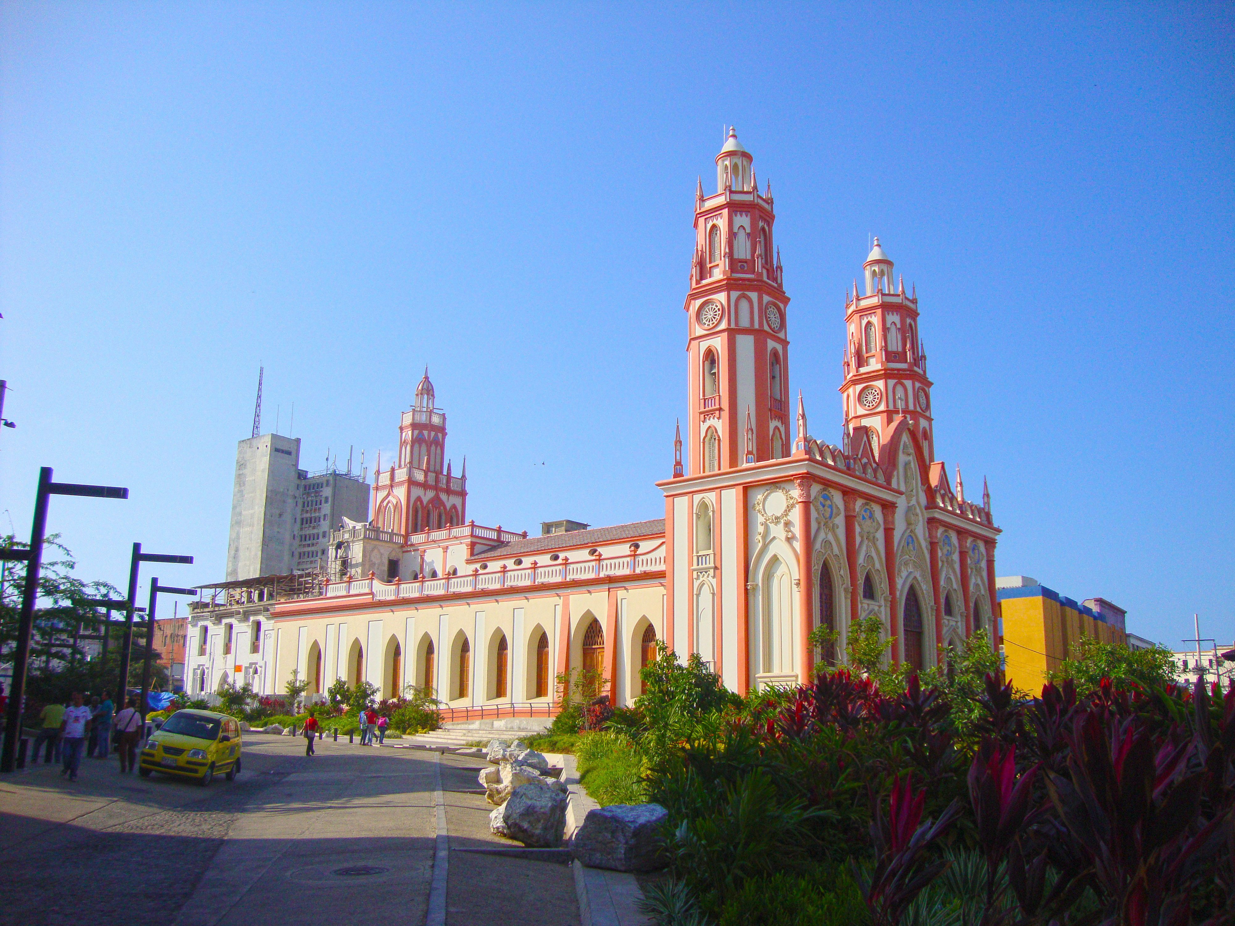 Large Church In Barranquilla Colombia Image Free Stock