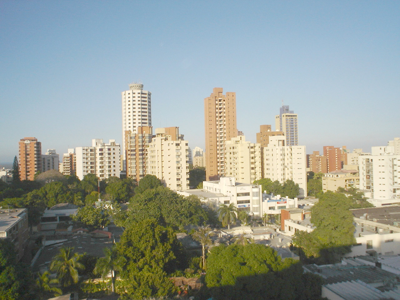 Skyline And Tall Towers Of Barranquilla Colombia Image