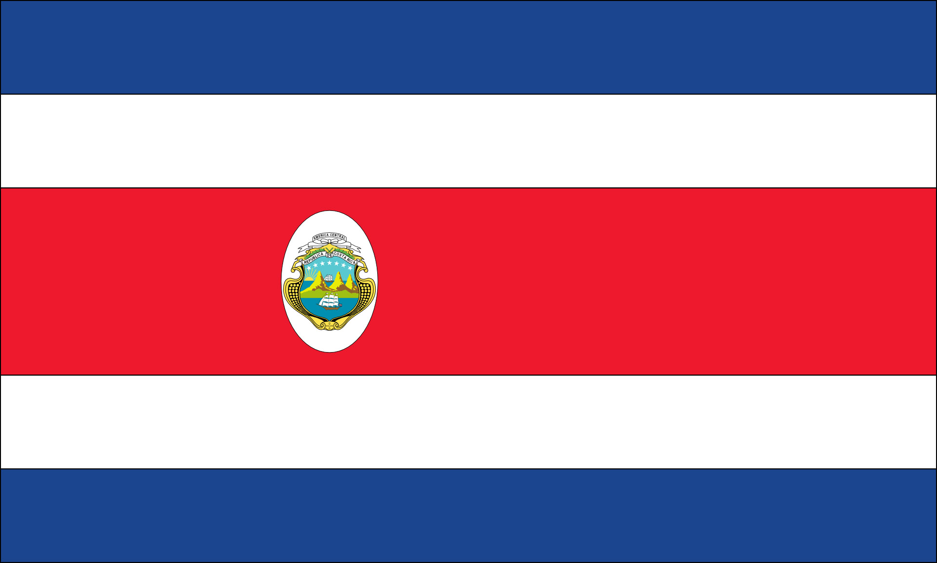 Flag of Costa Rica image - Free stock photo - Public Domain photo ...