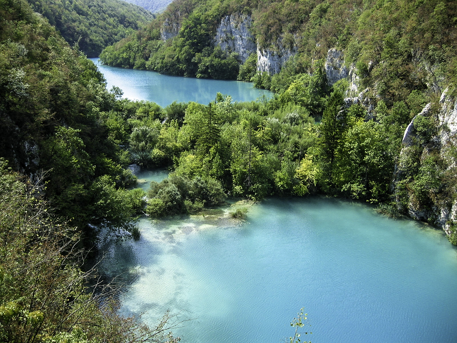 croatia blue lake best places to visit in europe