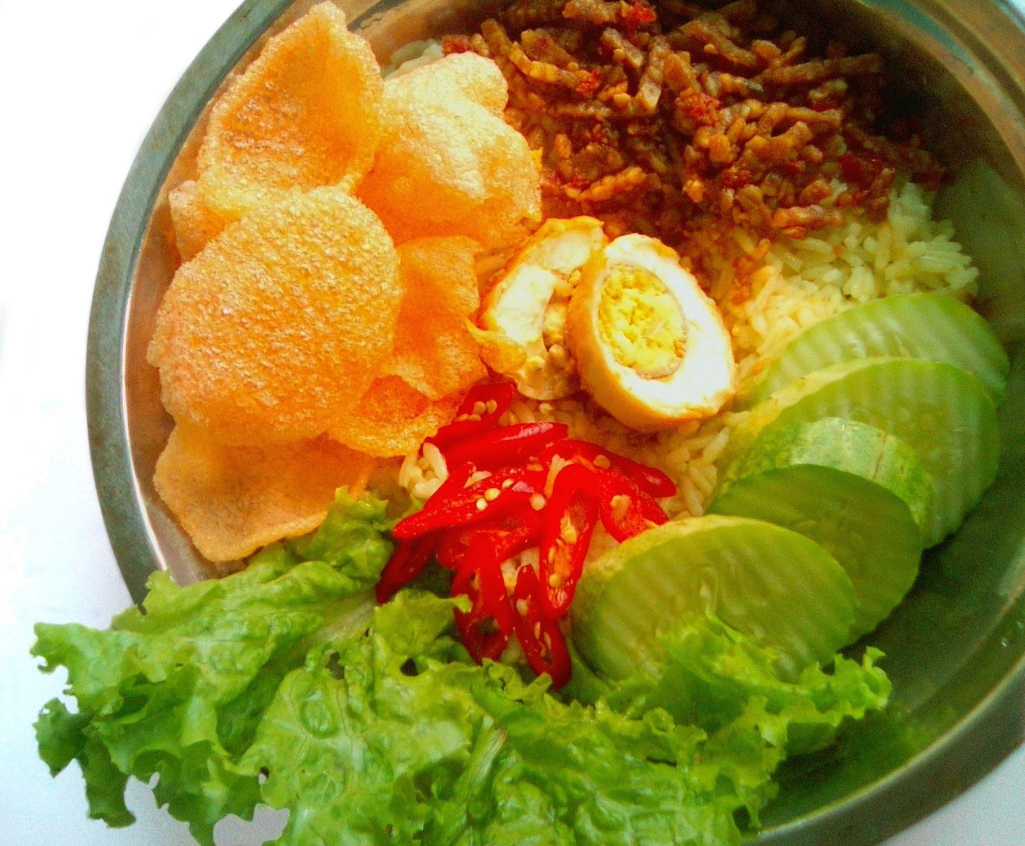 Free stock photo of nasi uduk traditional indonesian food for Authentic indonesian cuisine