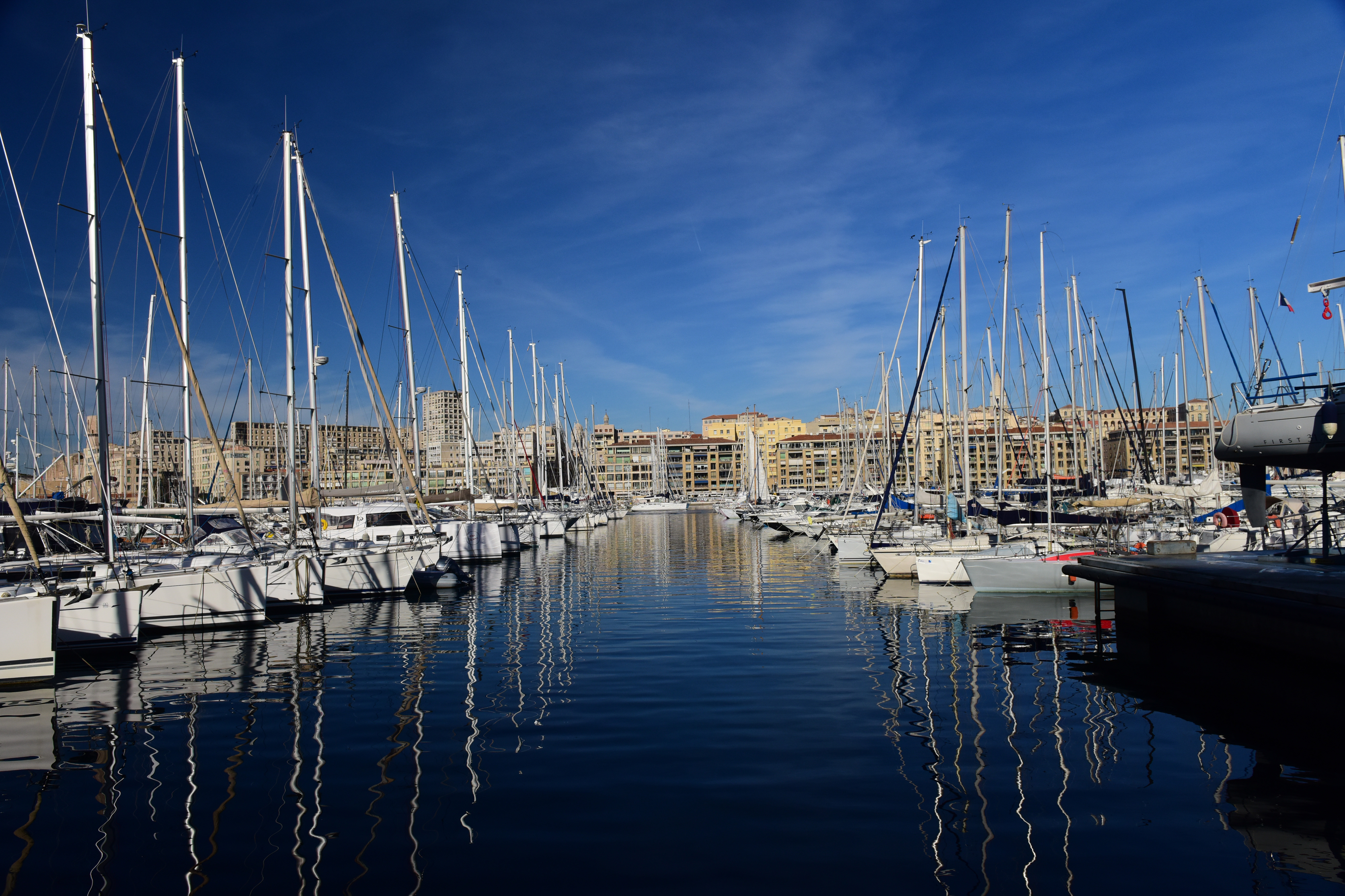 Boats in the Harbor in Marseille image - Free stock photo - Public Domain photo - CC0 Images