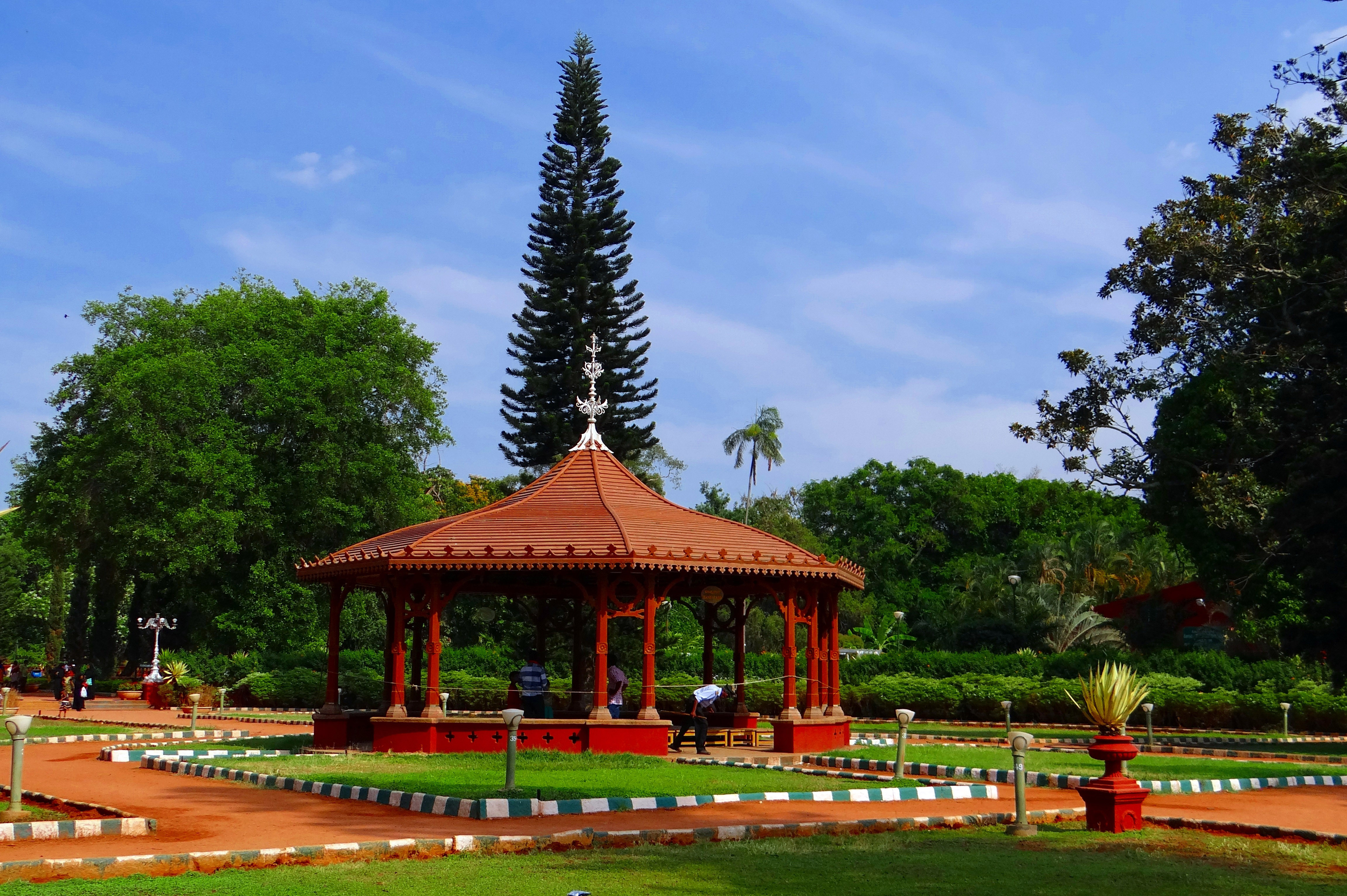 Gazebo in Canopy Garden in Bangalore, India image - Free ...
