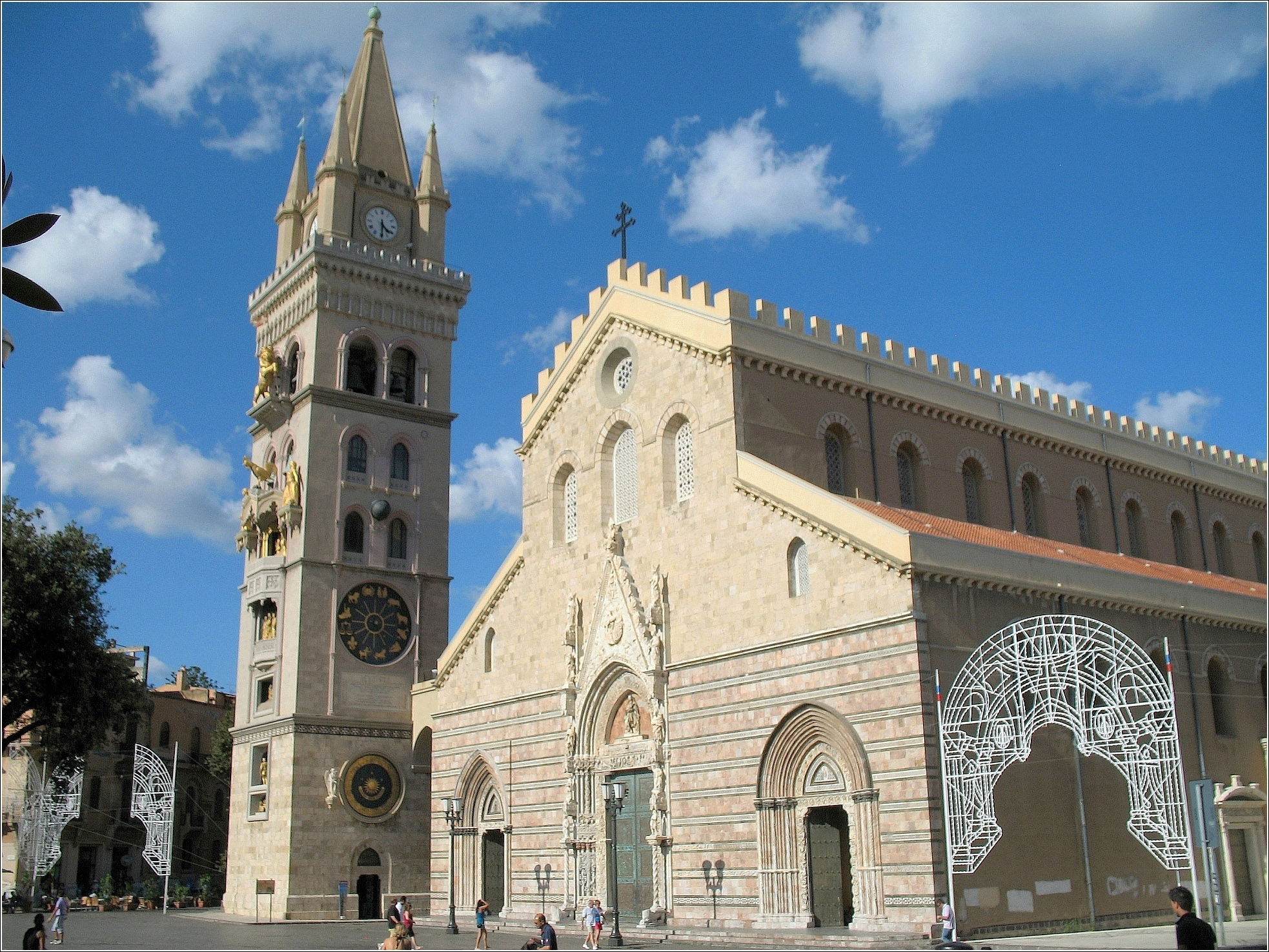 Cathedral of Messina in Italy image - Free stock photo ...