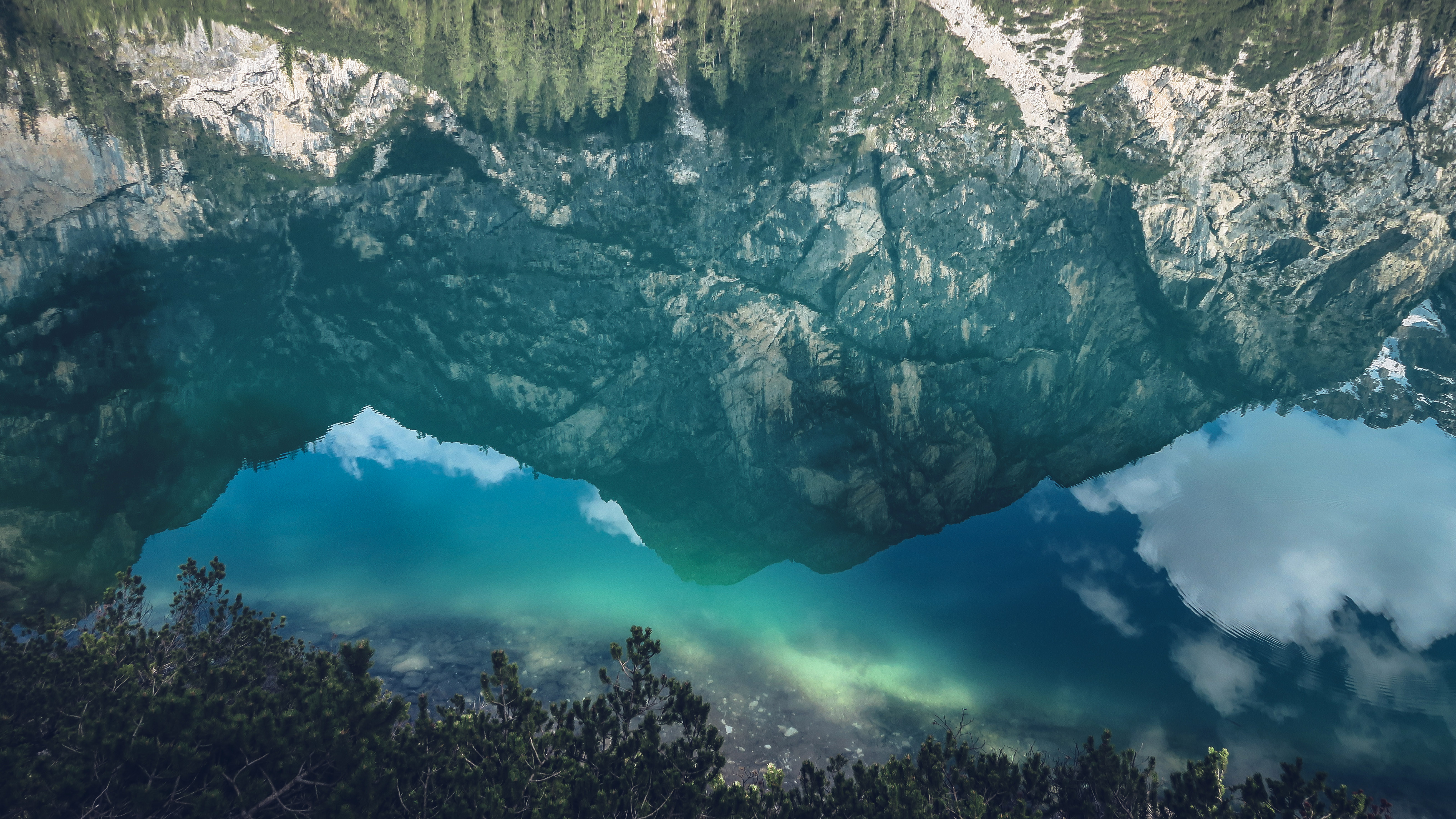 clear water reflection in italy image - free stock photo - public domain photo