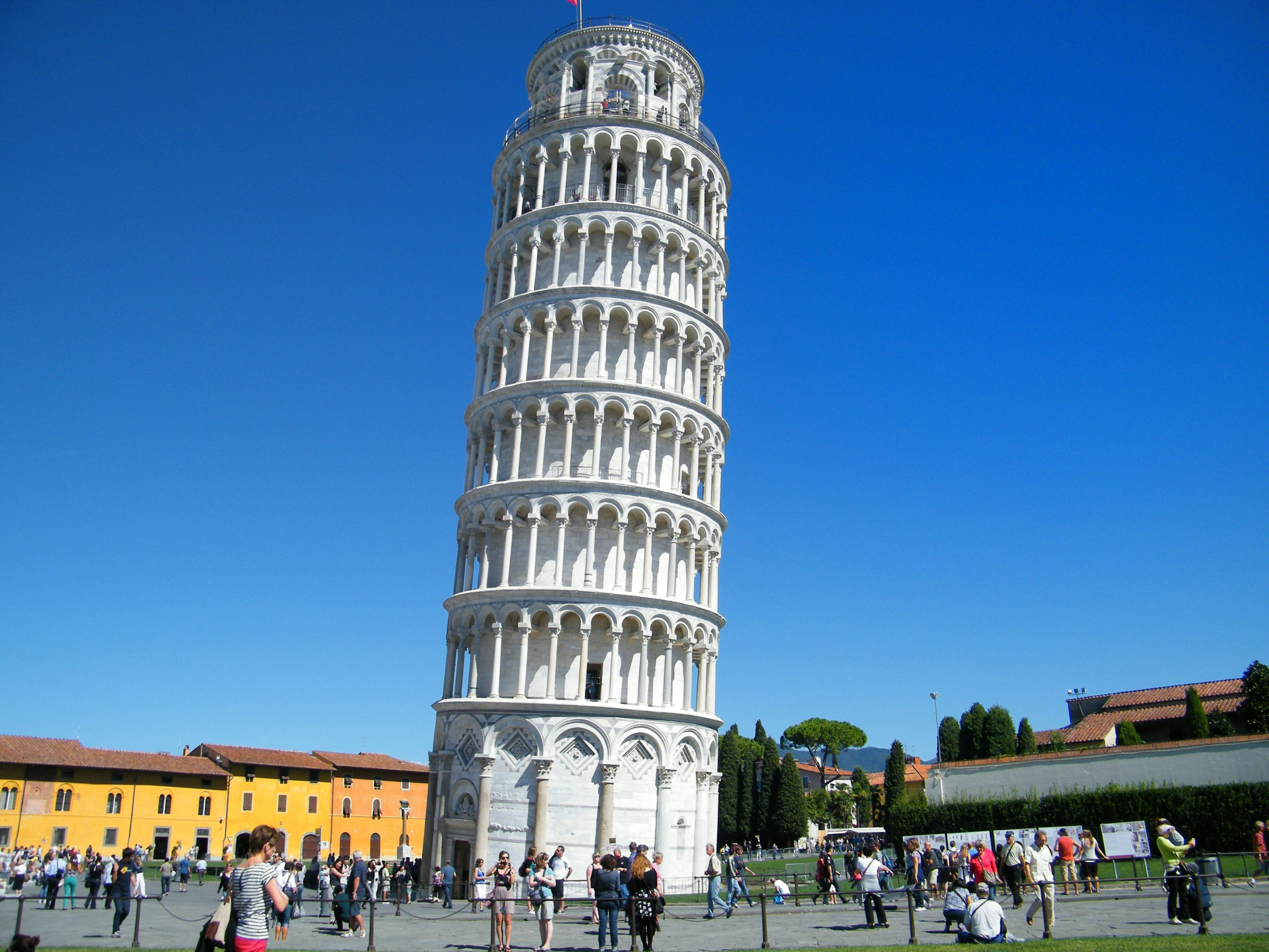Free stock photo of the leaning tower of pisa from the plaza public domain - Lego architecture tour de pise ...