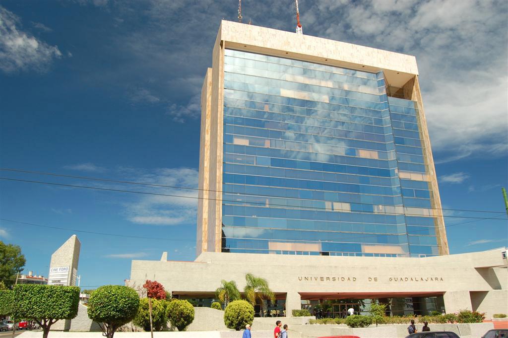the university of guadalajara u0026 39 s administrative building in