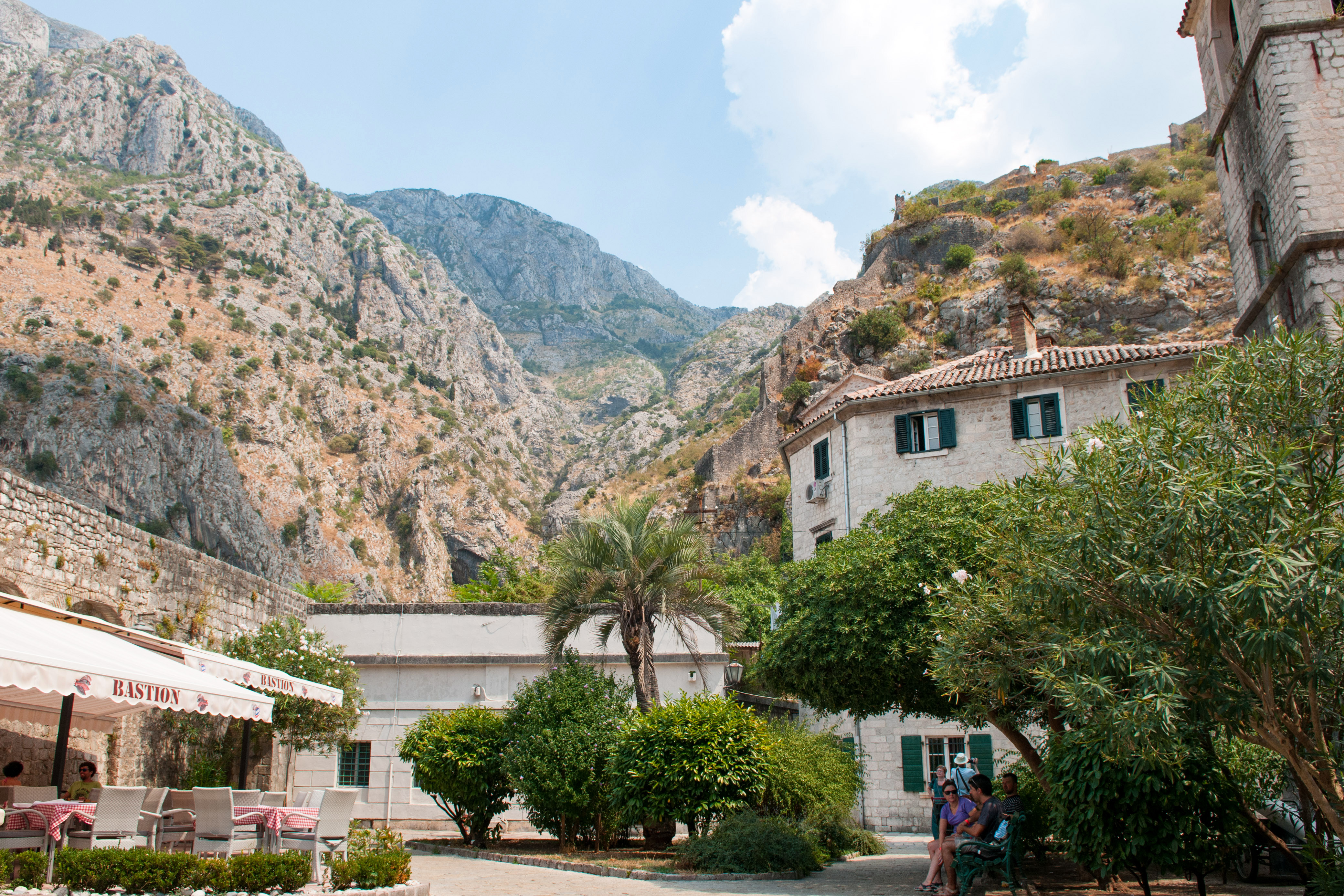 old town section of kotor in montenegro image free stock photo