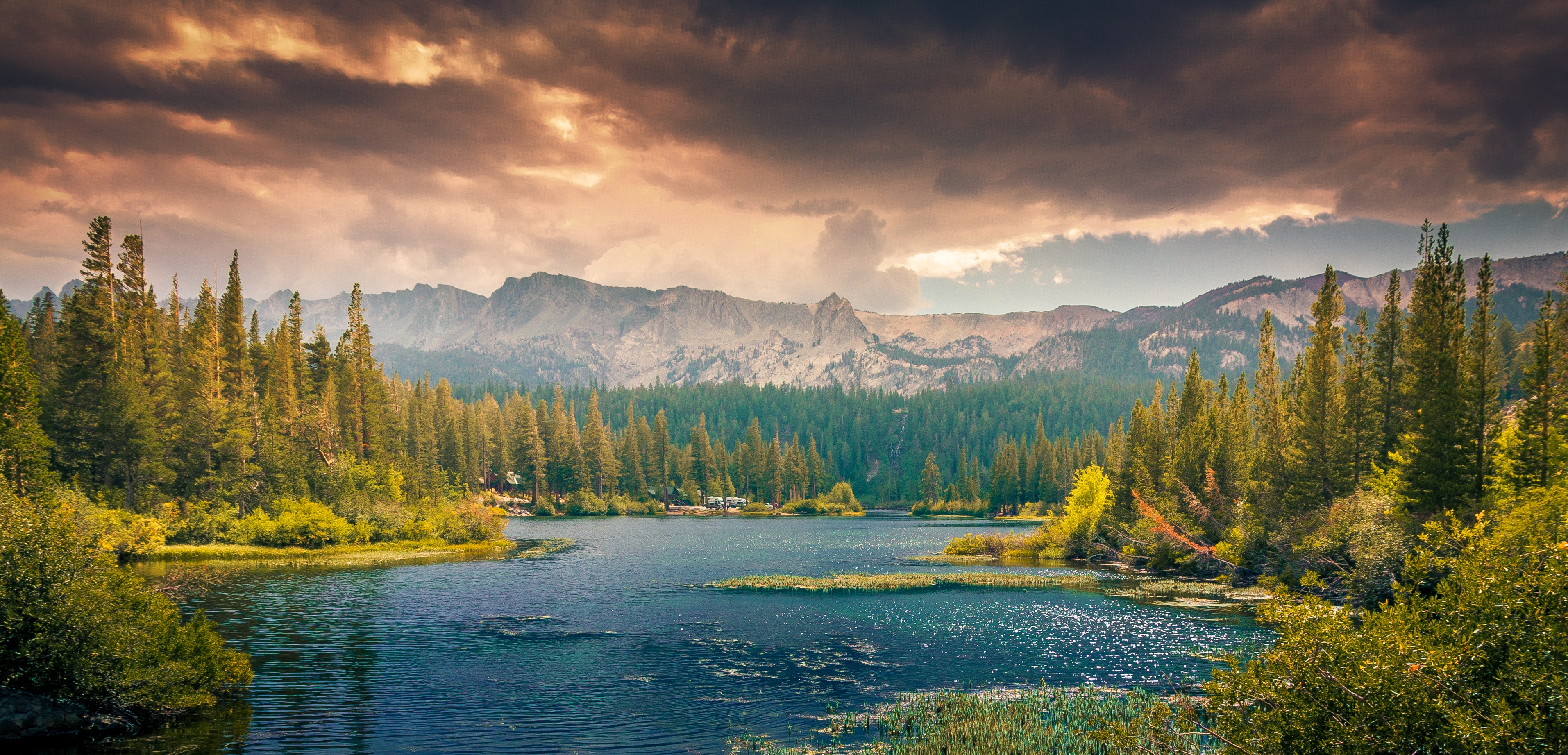 Landscapes With Lake And Clouds Image Free Stock Photo Public Domain Photo Cc0 Images