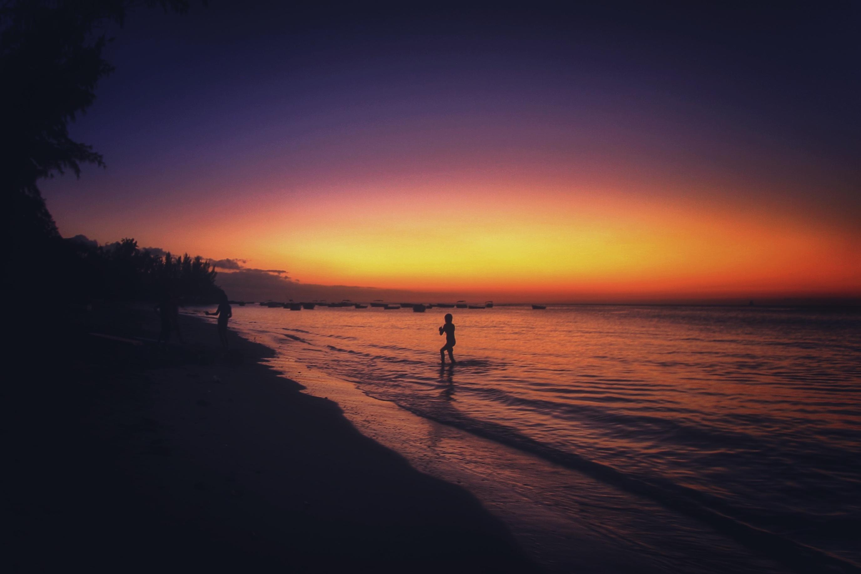 Summer Beach Landscape Image