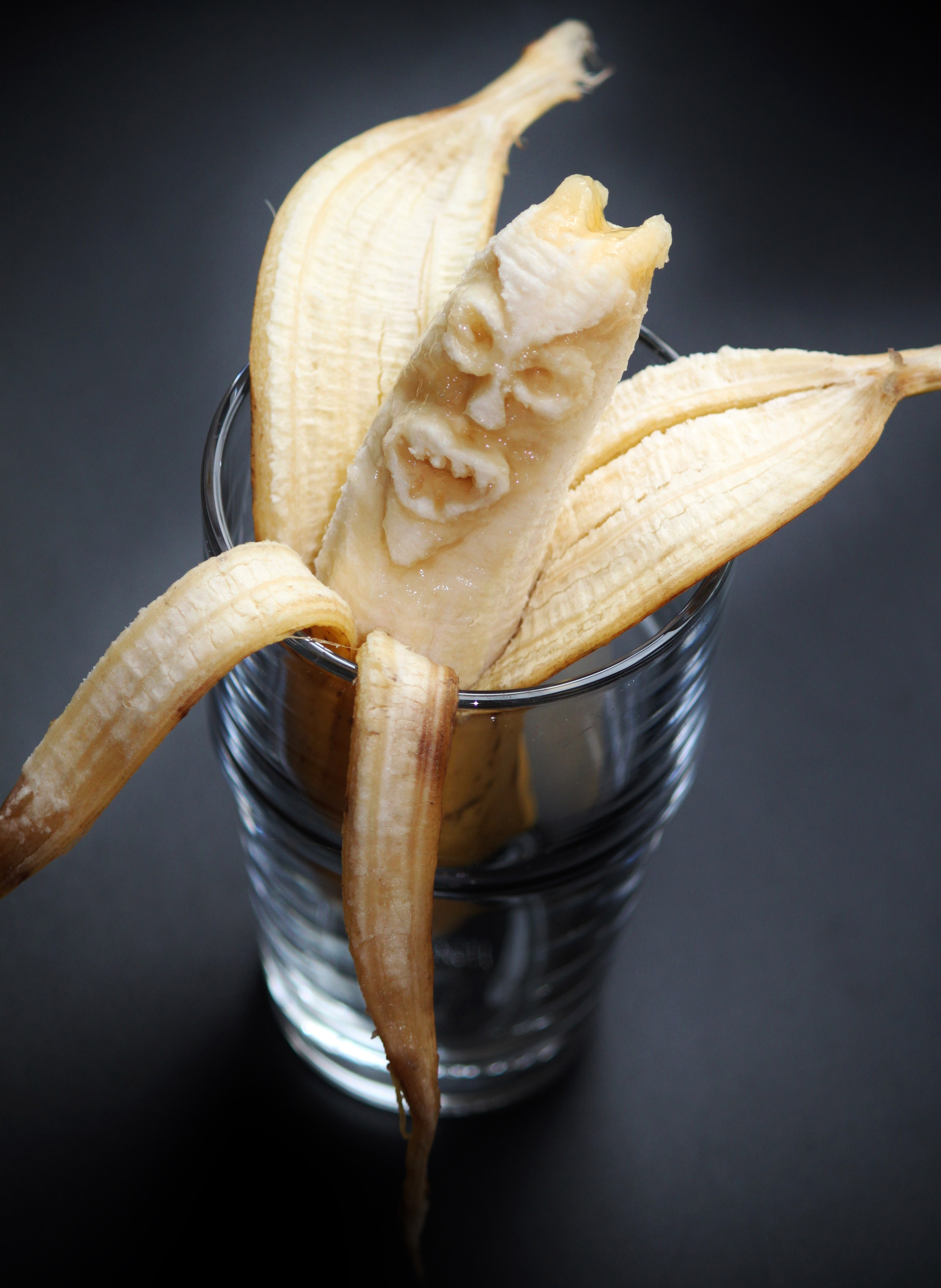 Banana Face Monster Image Free Stock Photo Public