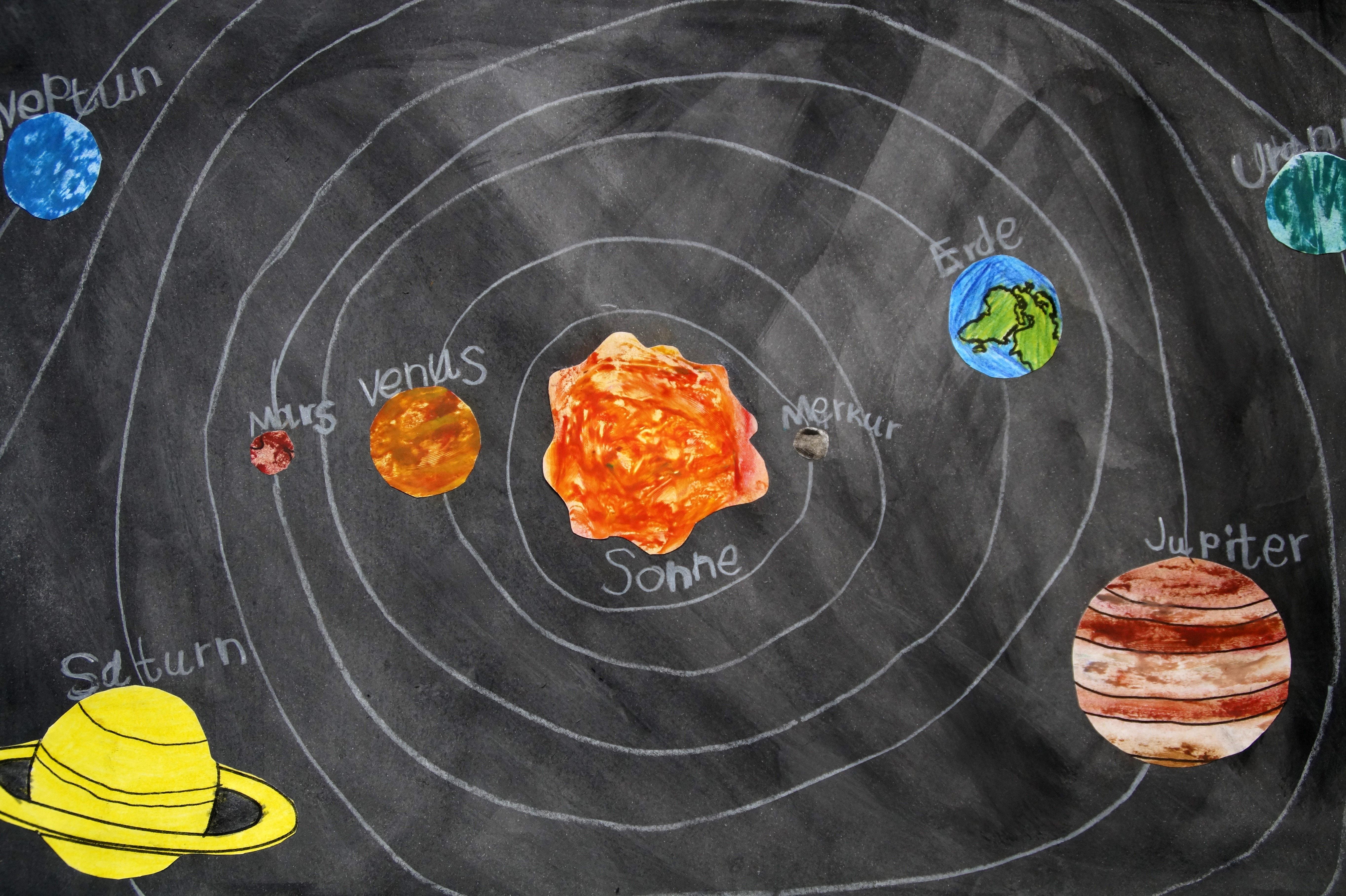 solar system sketch - photo #47