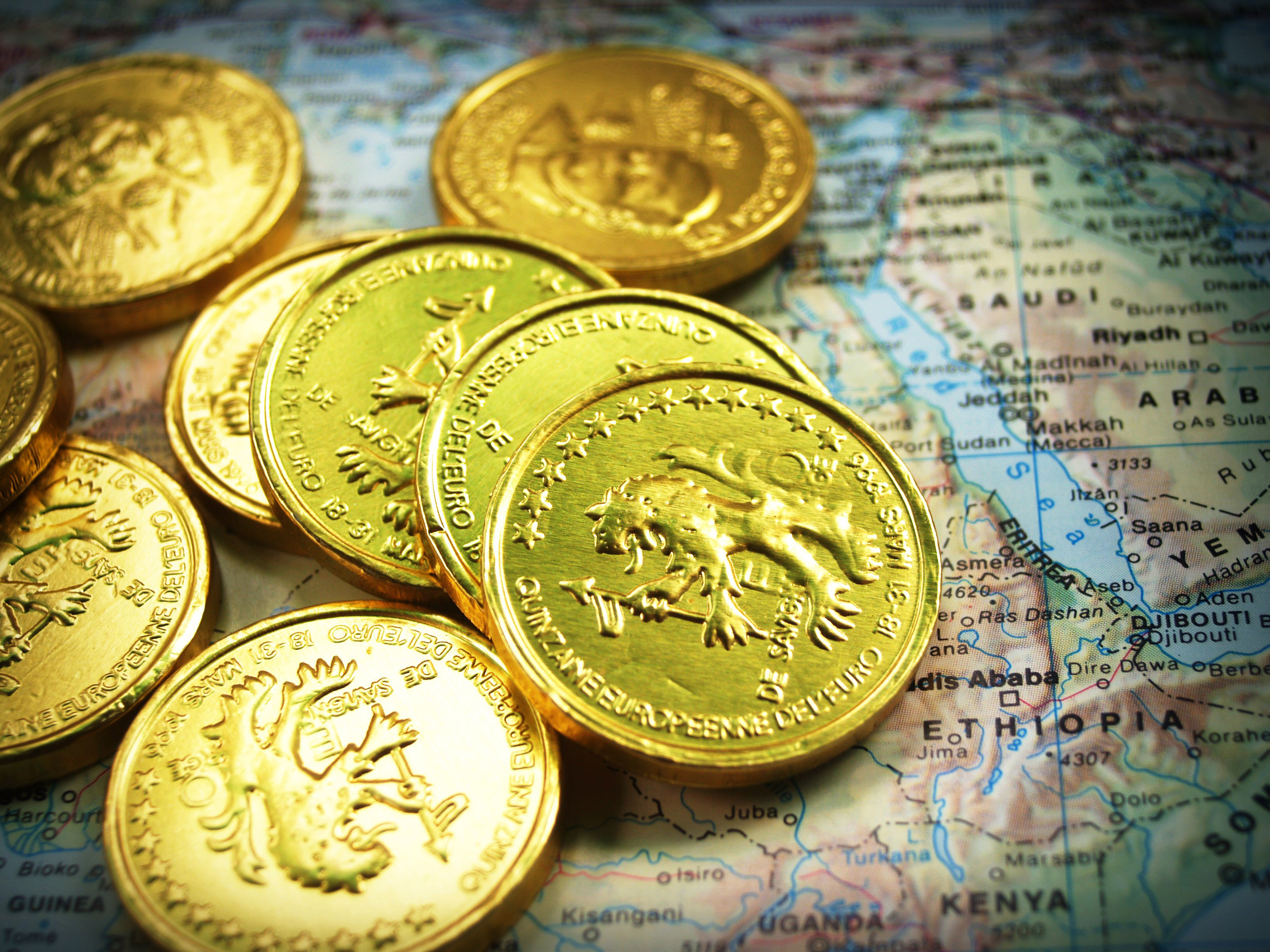 Gold Coins Stock Photos Image Free Stock Photo Public