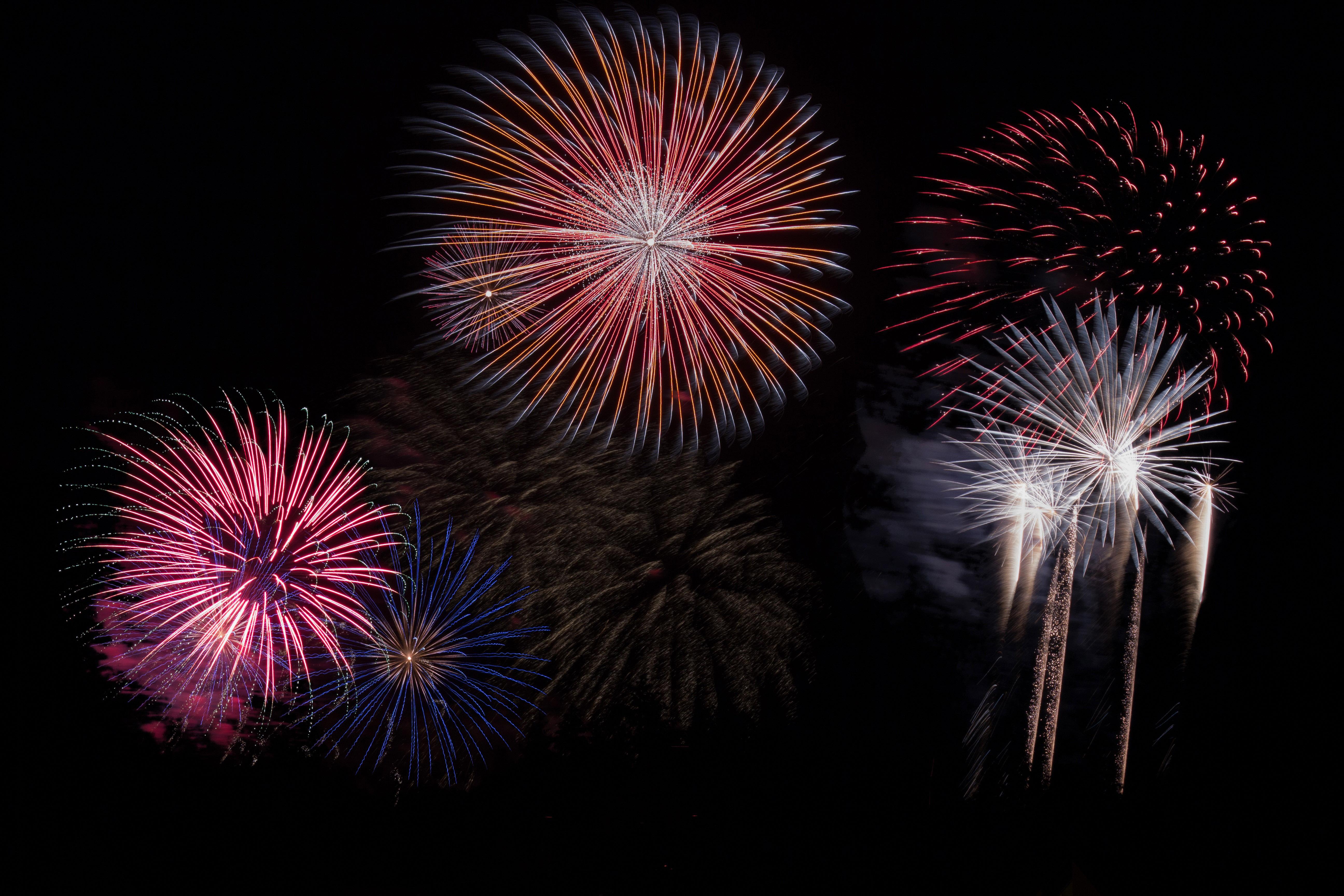 New Year\'s Eve Fireworks Dispay image - Free stock photo - Public ...