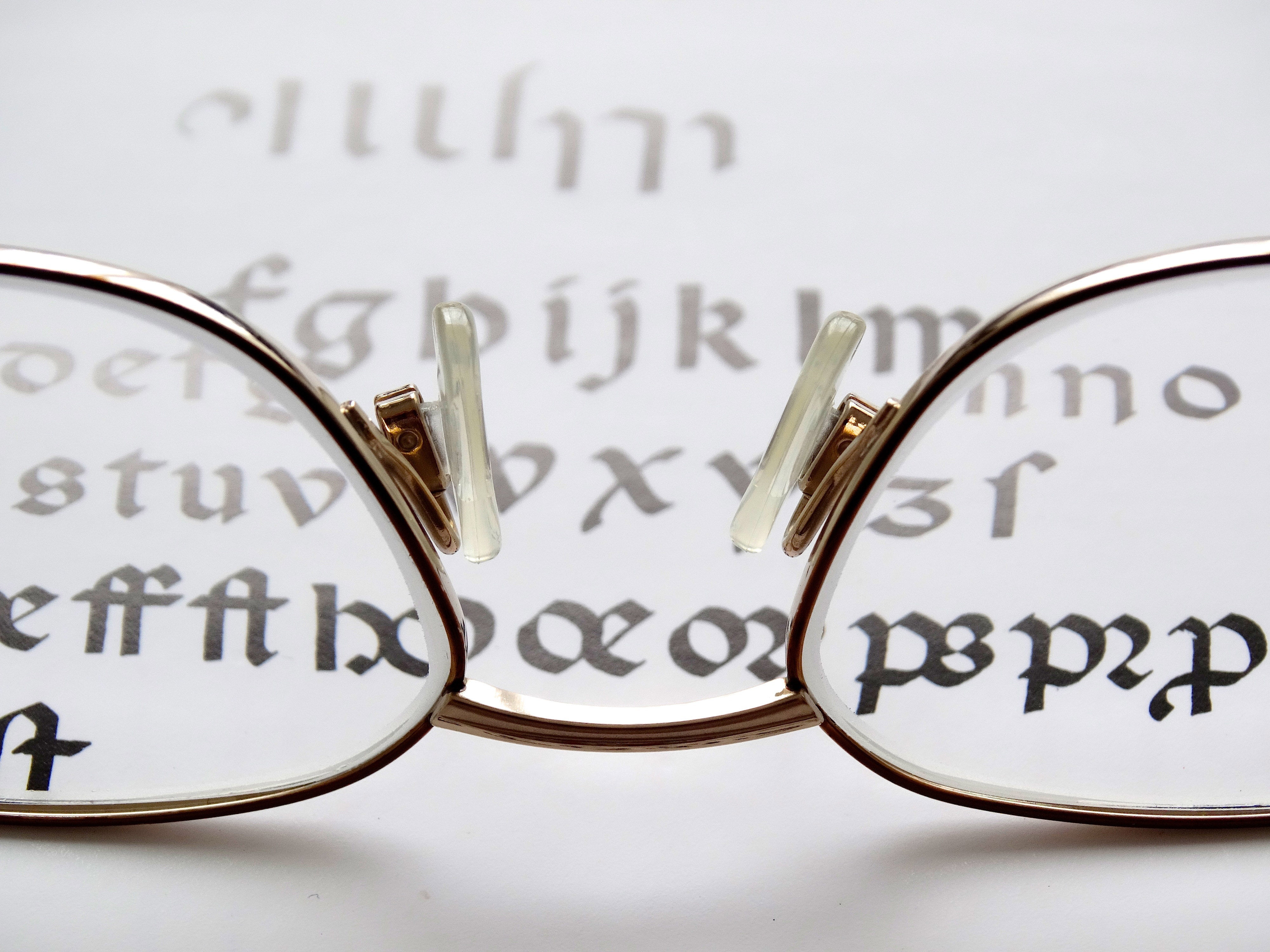 Reading Glasses looking at words image - Free stock photo ...