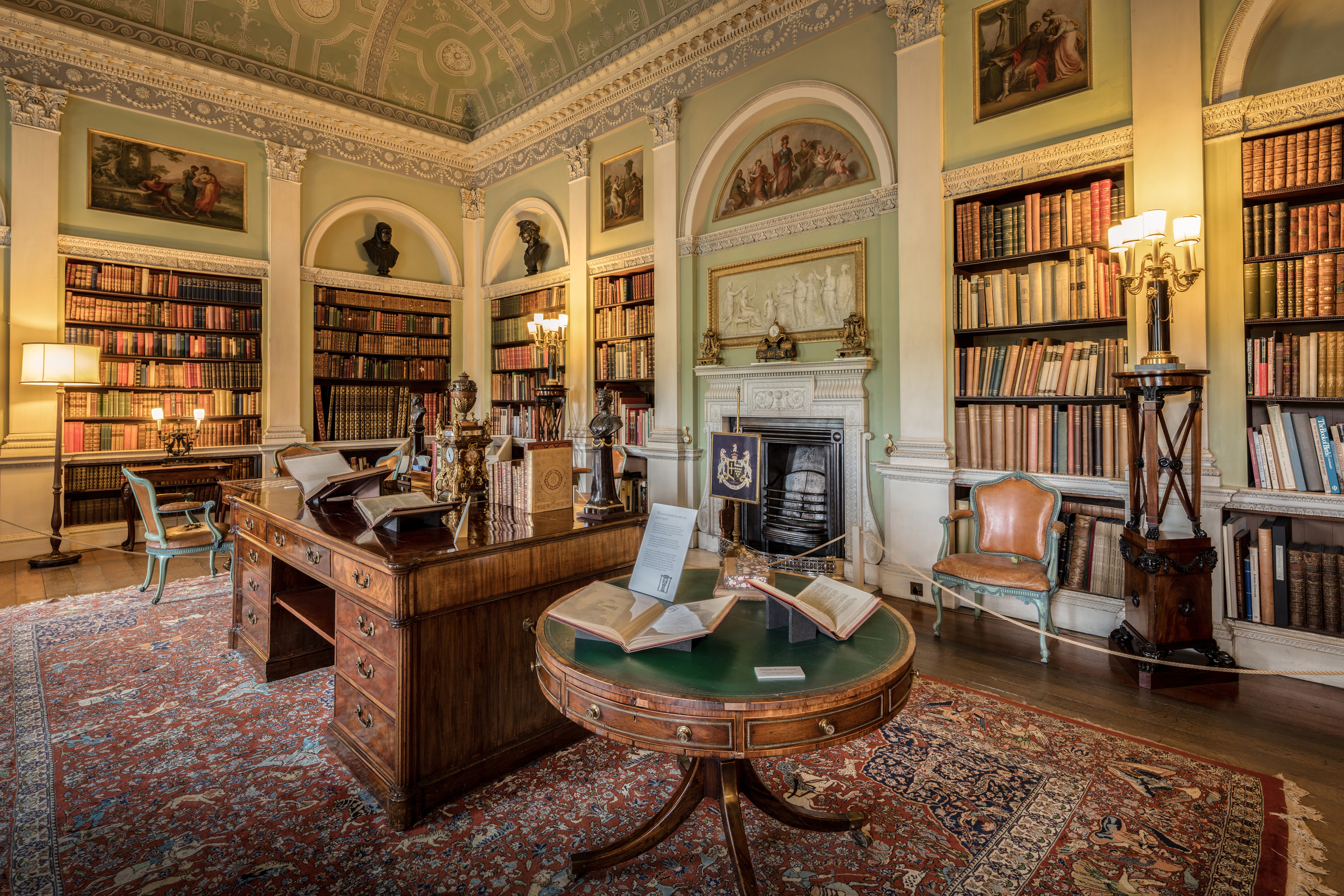 Harewood House Library Image Free Stock Photo Public