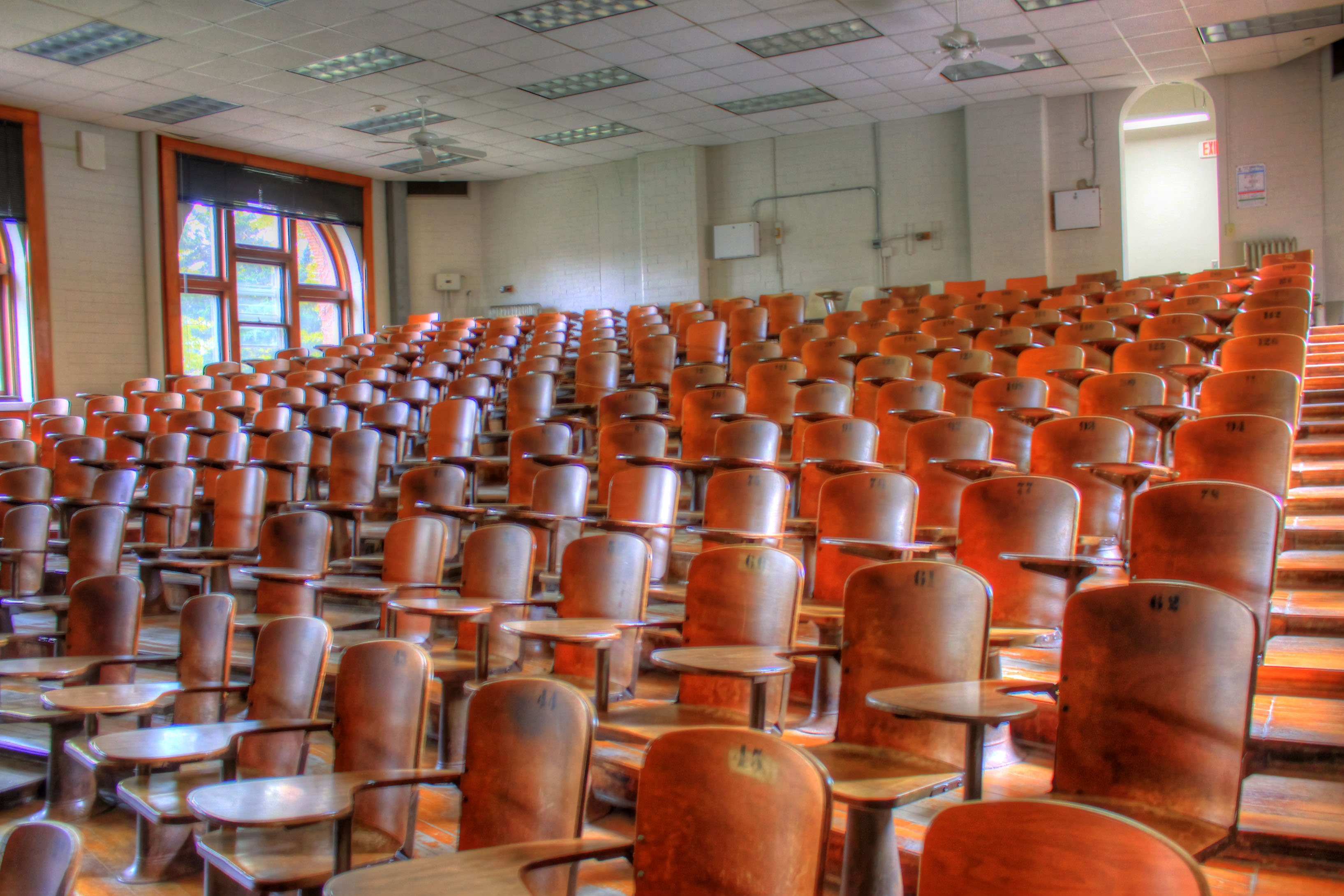 Lecture hall image - Free stock photo - Public Domain ...