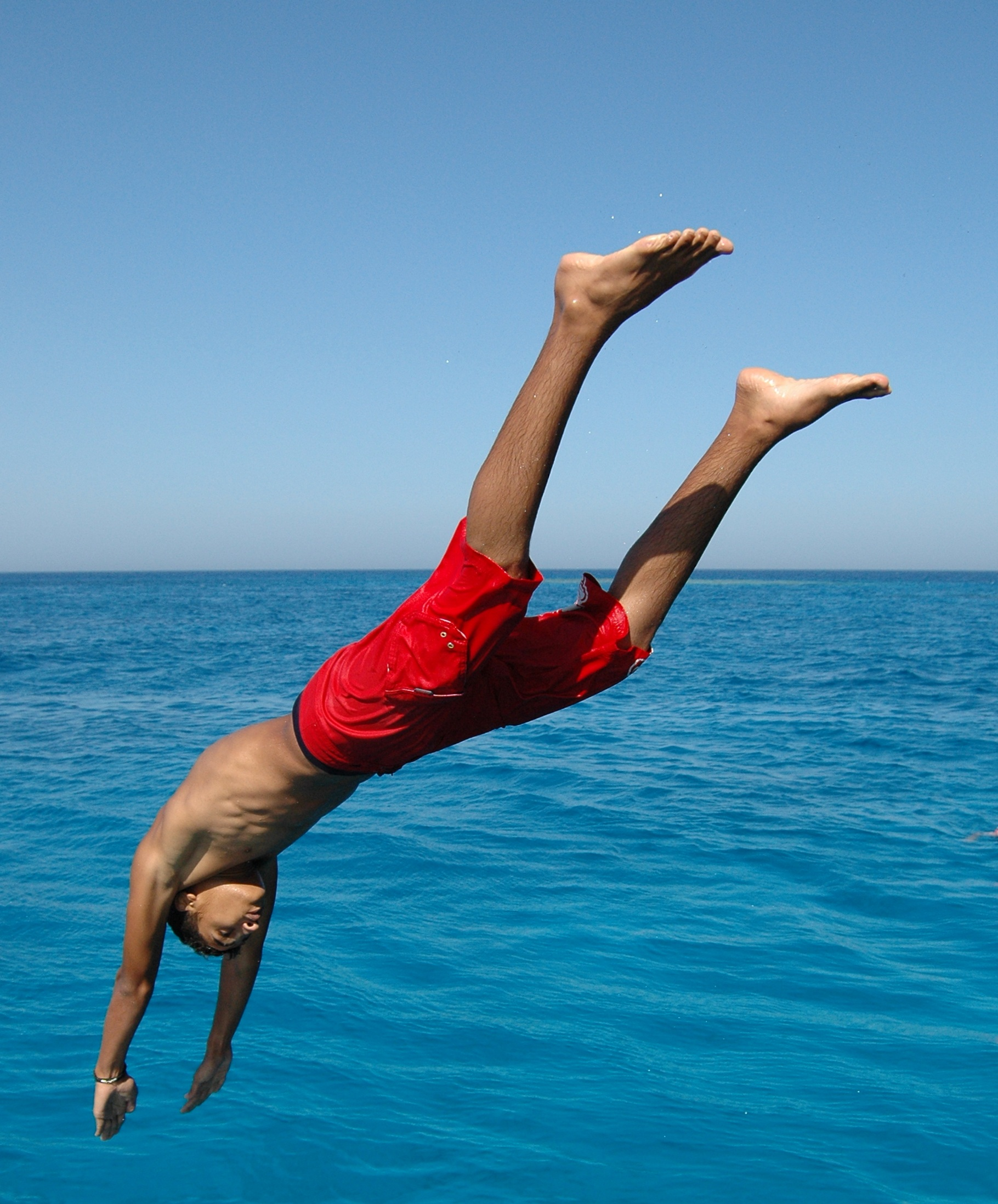 Image result for diving into water