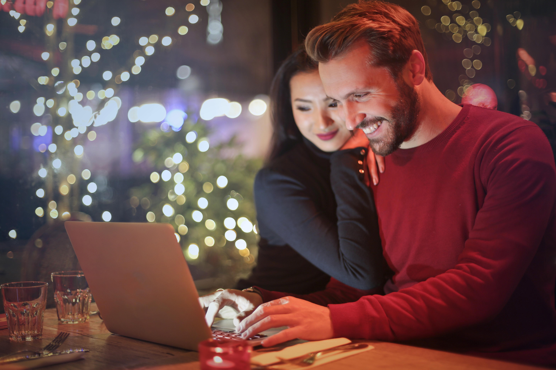 couple laptop cute working domain 1169