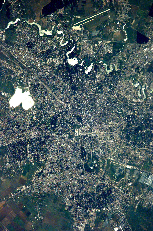 Aerial Image Of Bucharest Romania Image Free Stock