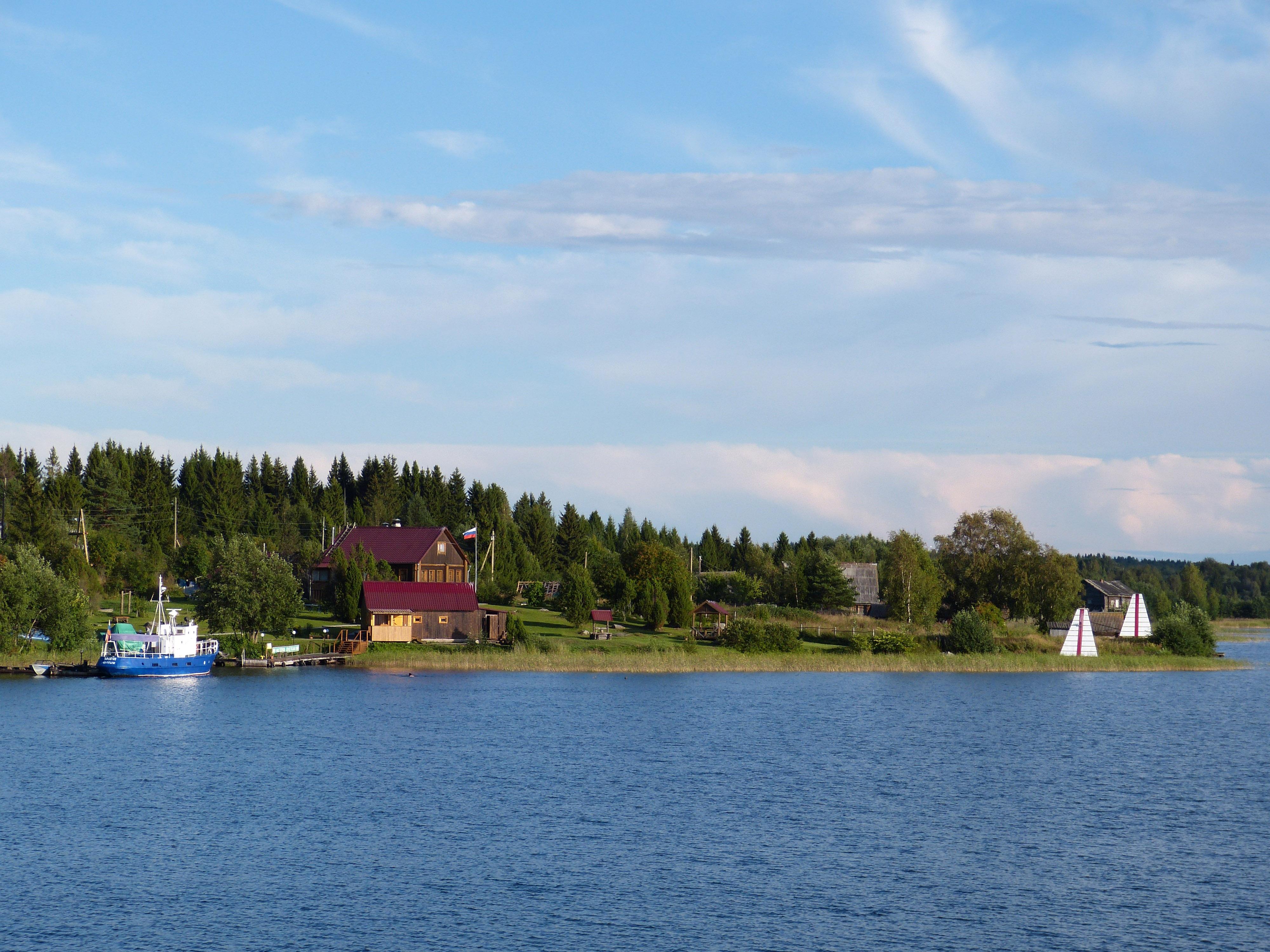 Ladoga lake scenery in Russia image - Free stock photo ...