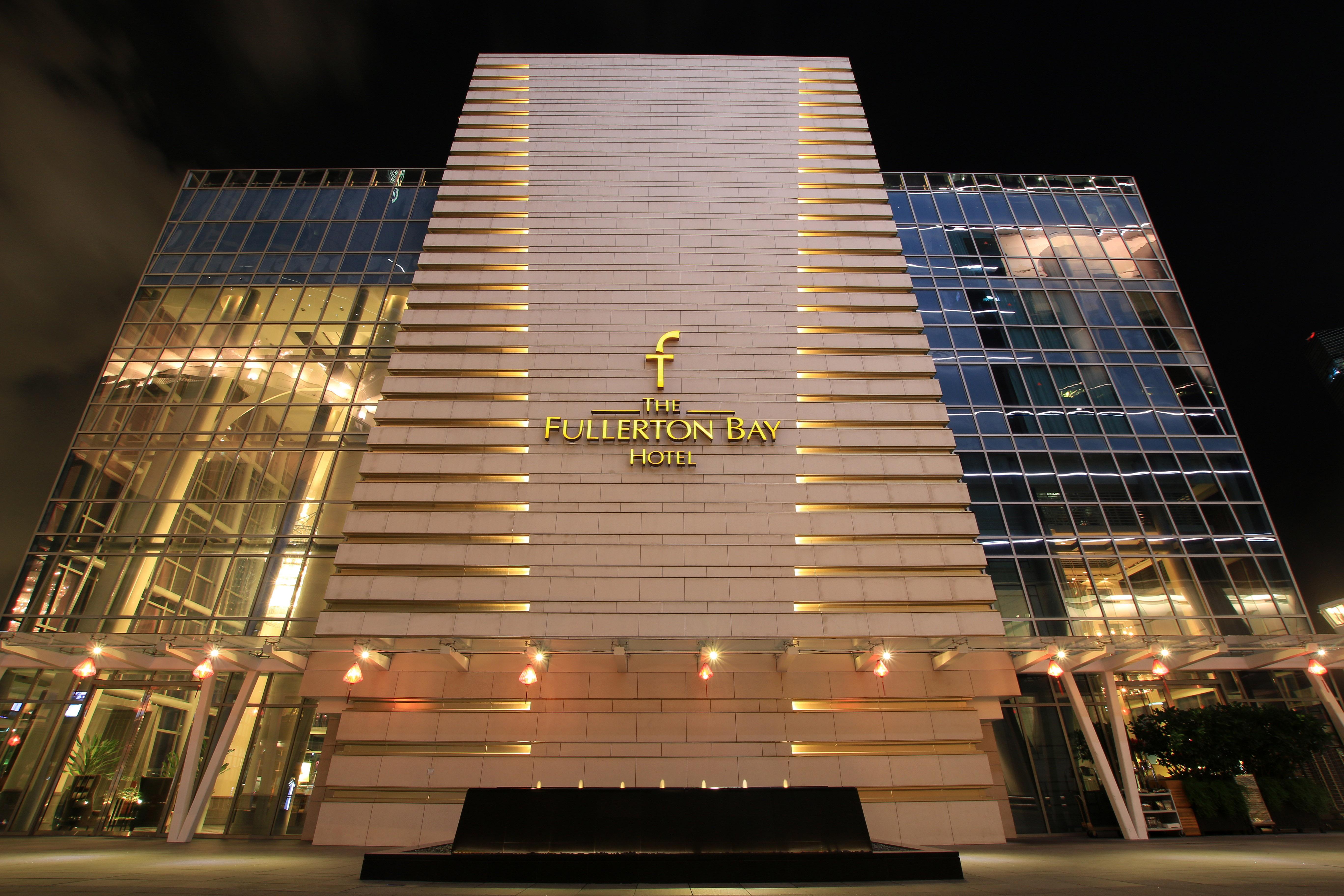Fullerton Bay Hotel In Singapore Image Free Stock Photo