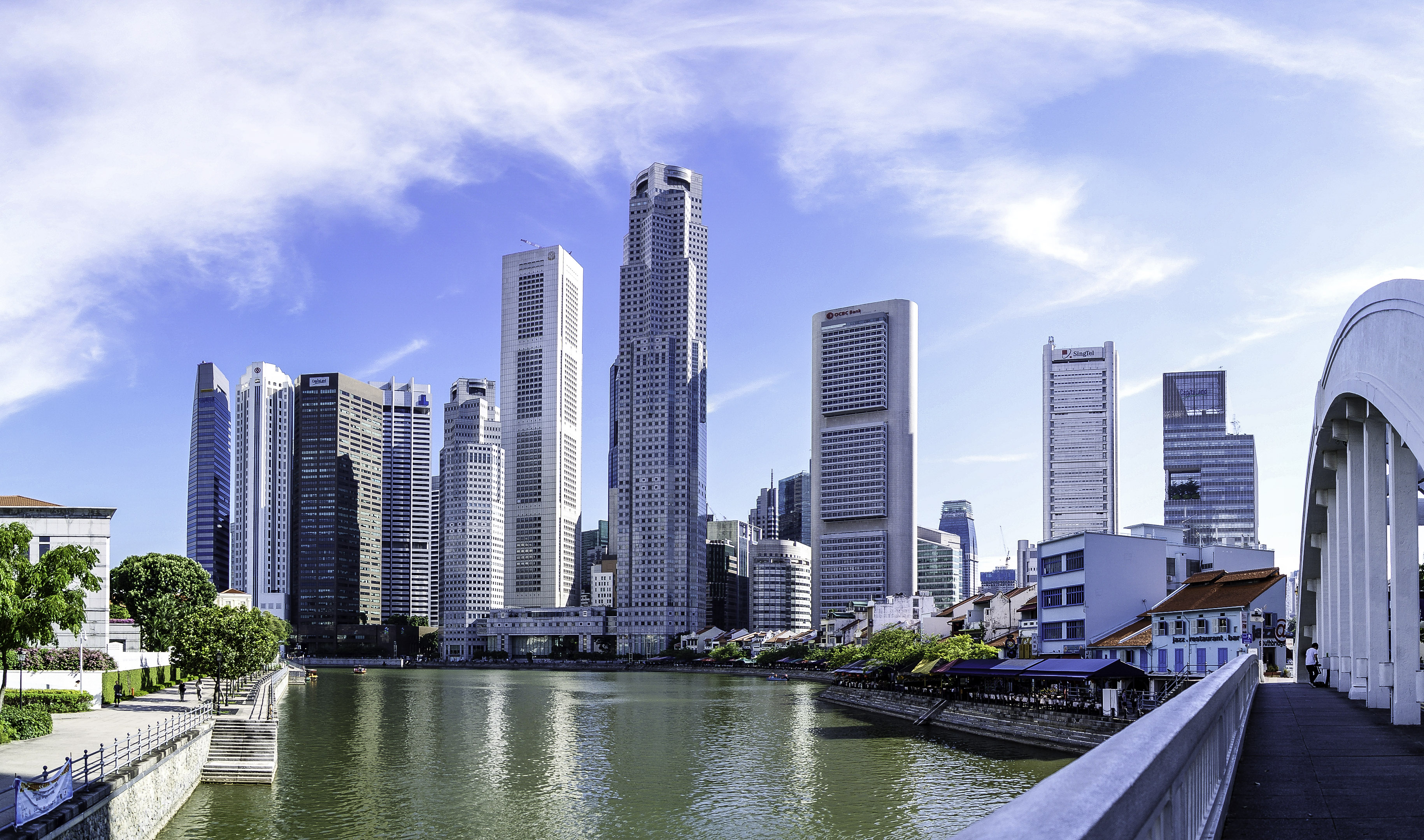 Stock Chart Singapore: Singapore buildings skyscrapers and skyline - Free Public Domain ,Chart