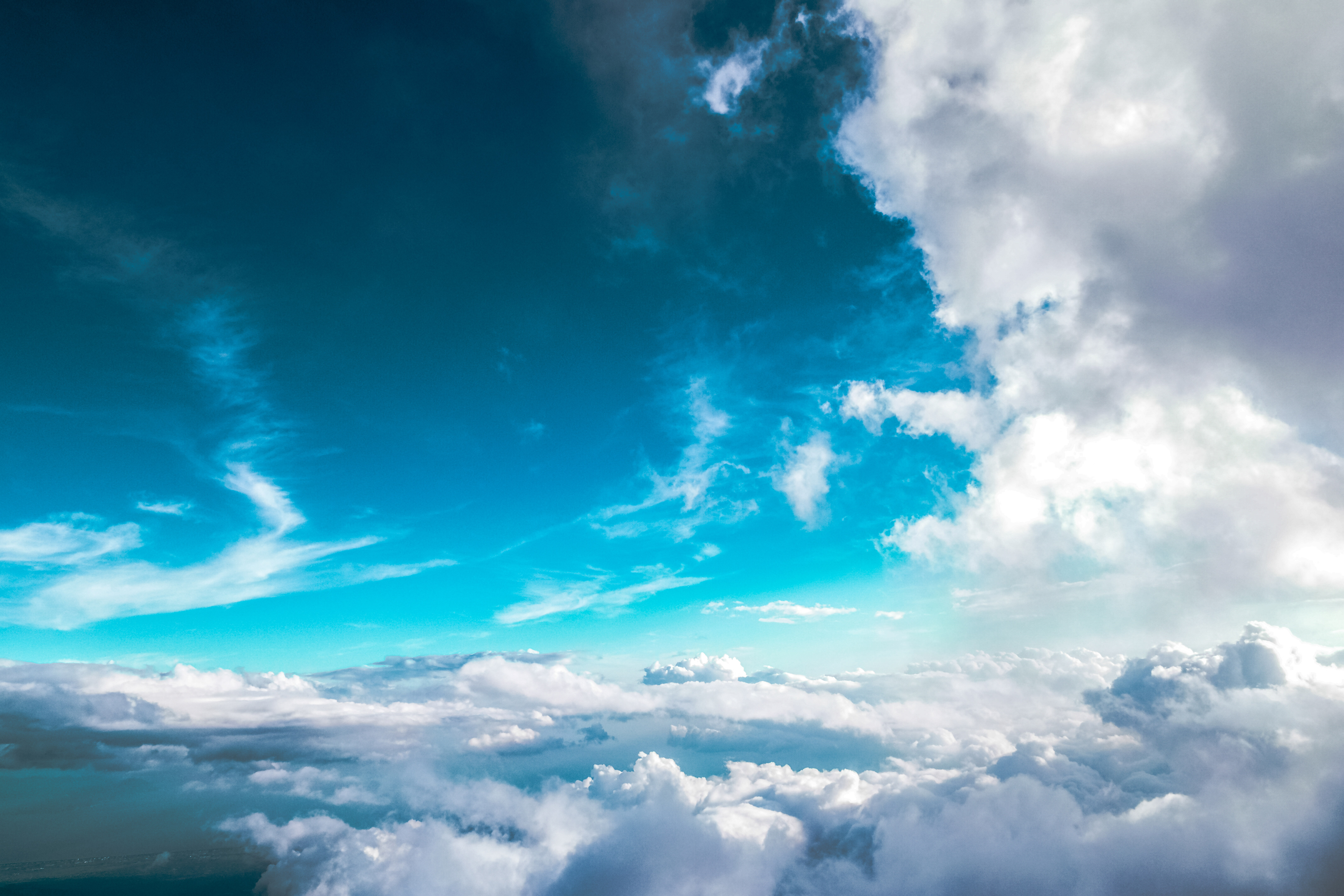 sky within the clouds image free stock photo public domain photo