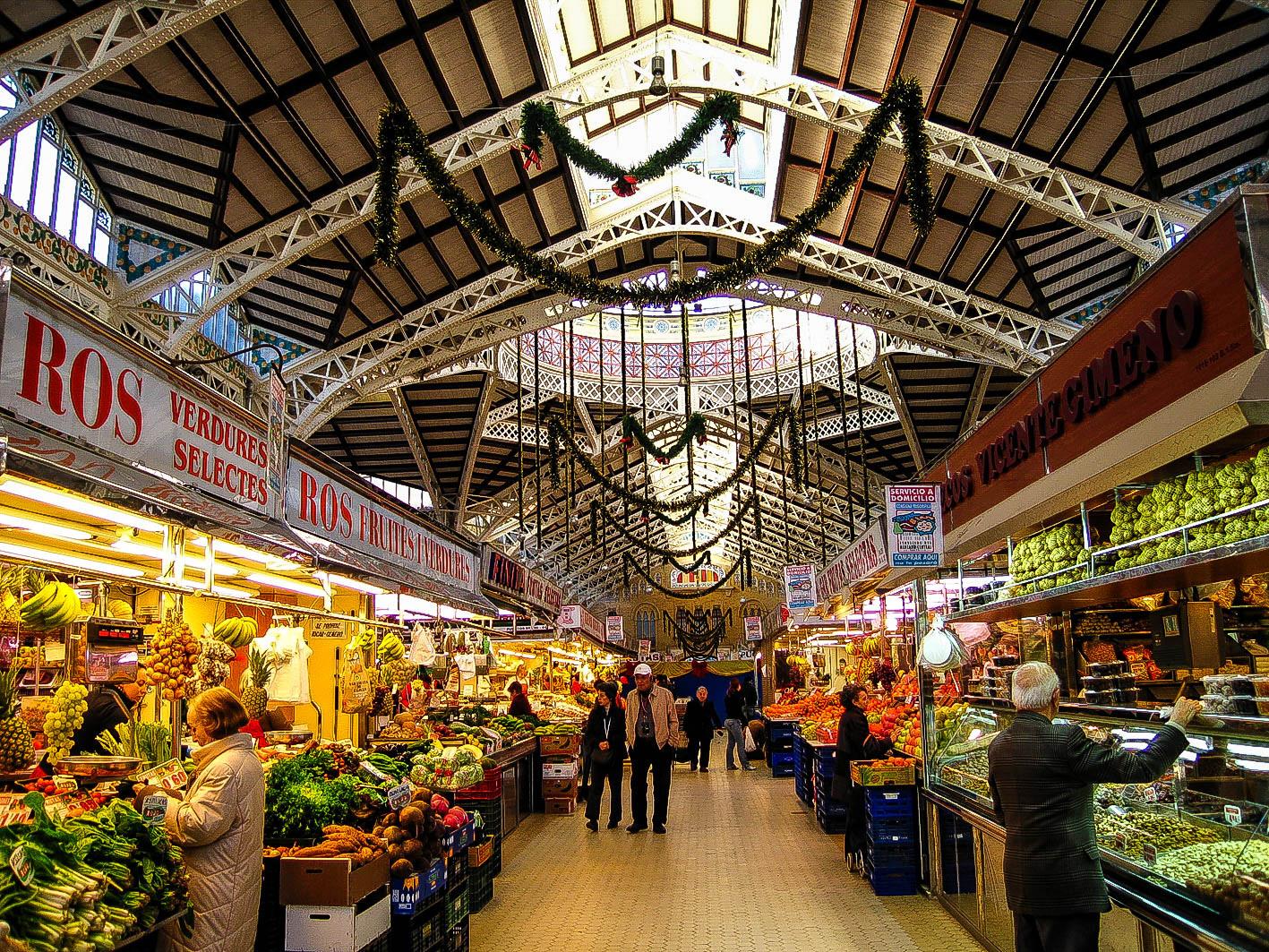 Mercado en Valencia