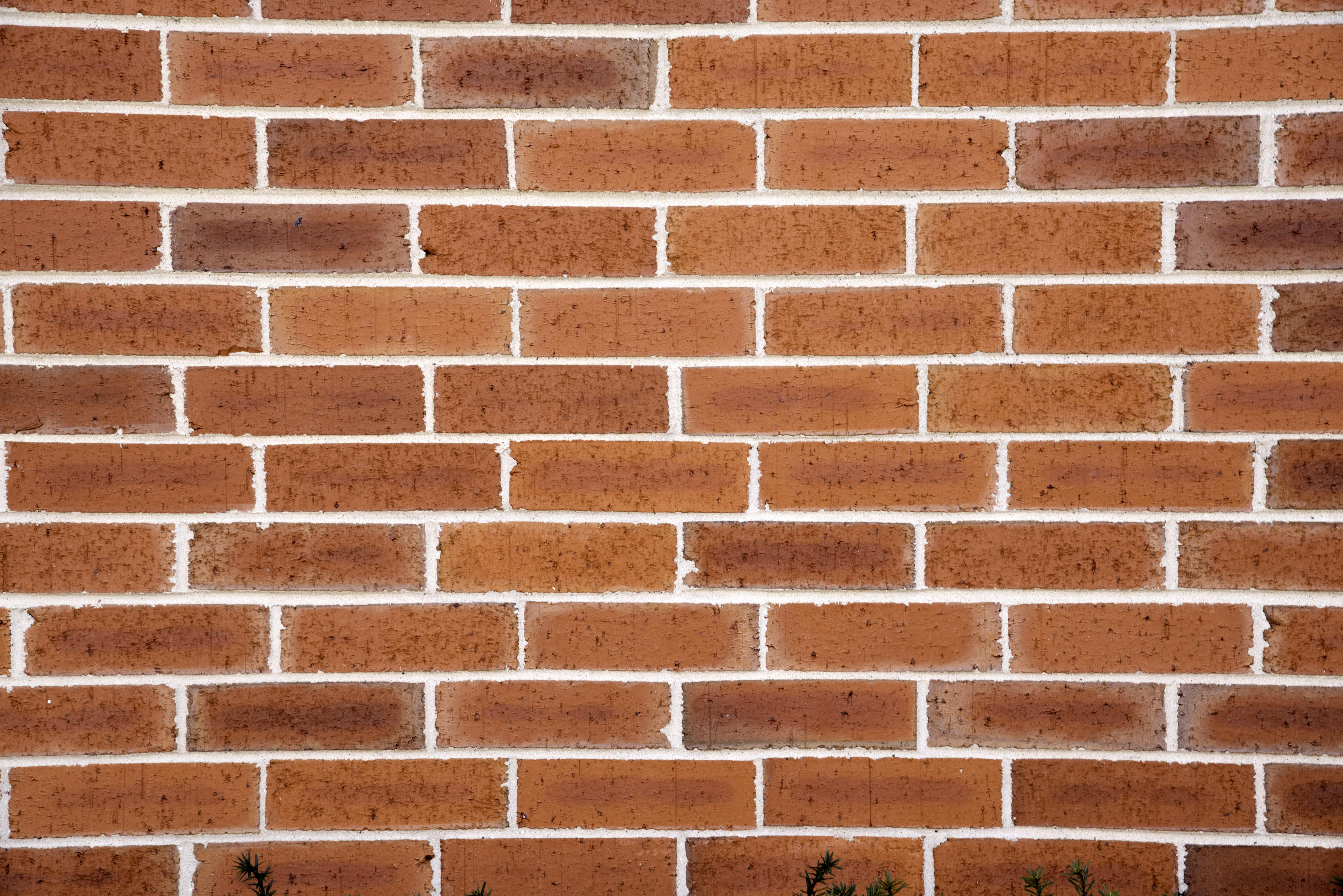 Brick Wall Patterns With Many Bricks Image Free Stock Photo