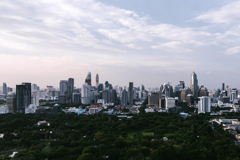 Bangkok City Skyline in Thailand image - Free stock photo - Public Domain photo - CC0 Images