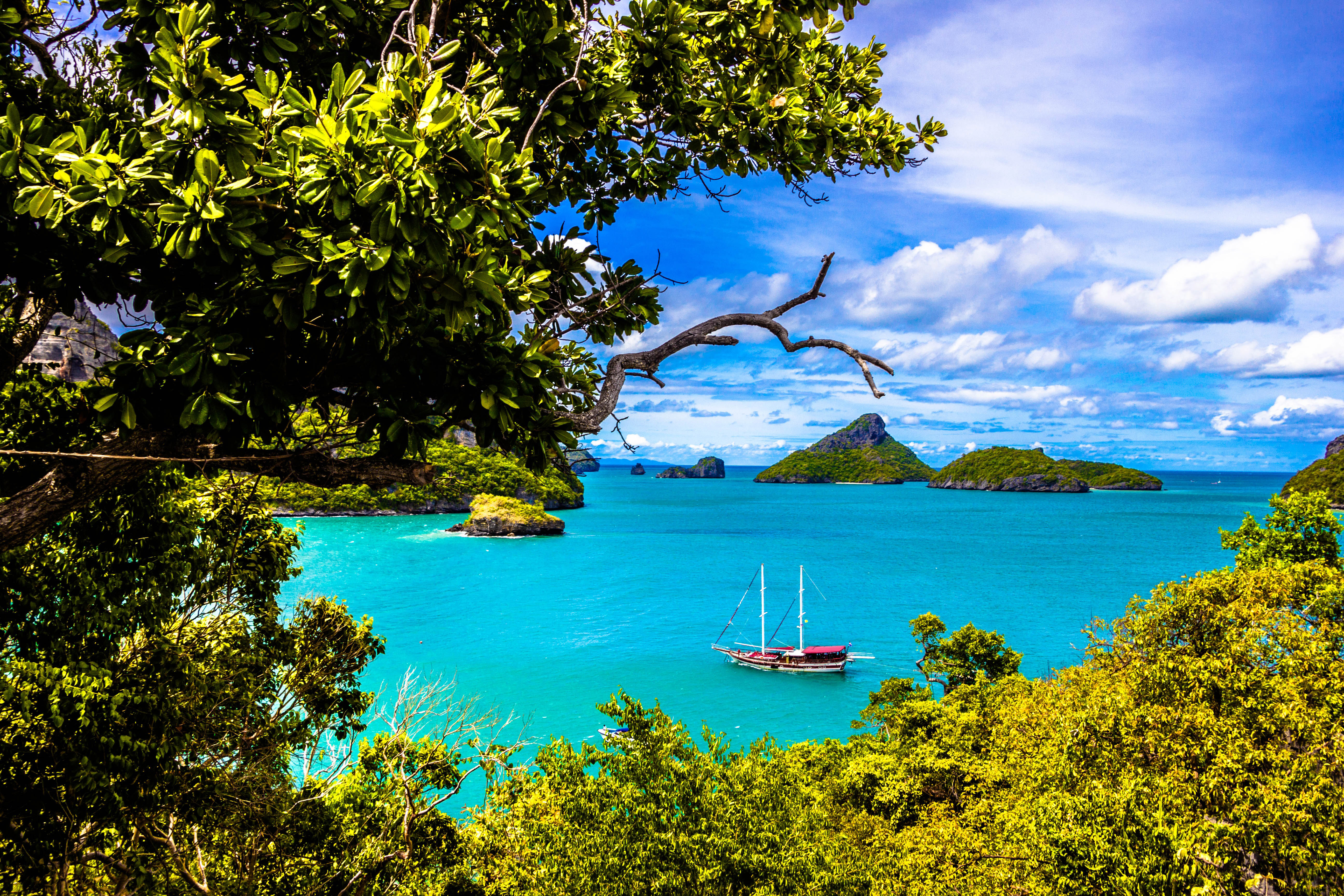 Beautiful water and ocean in Thailand image - Free stock