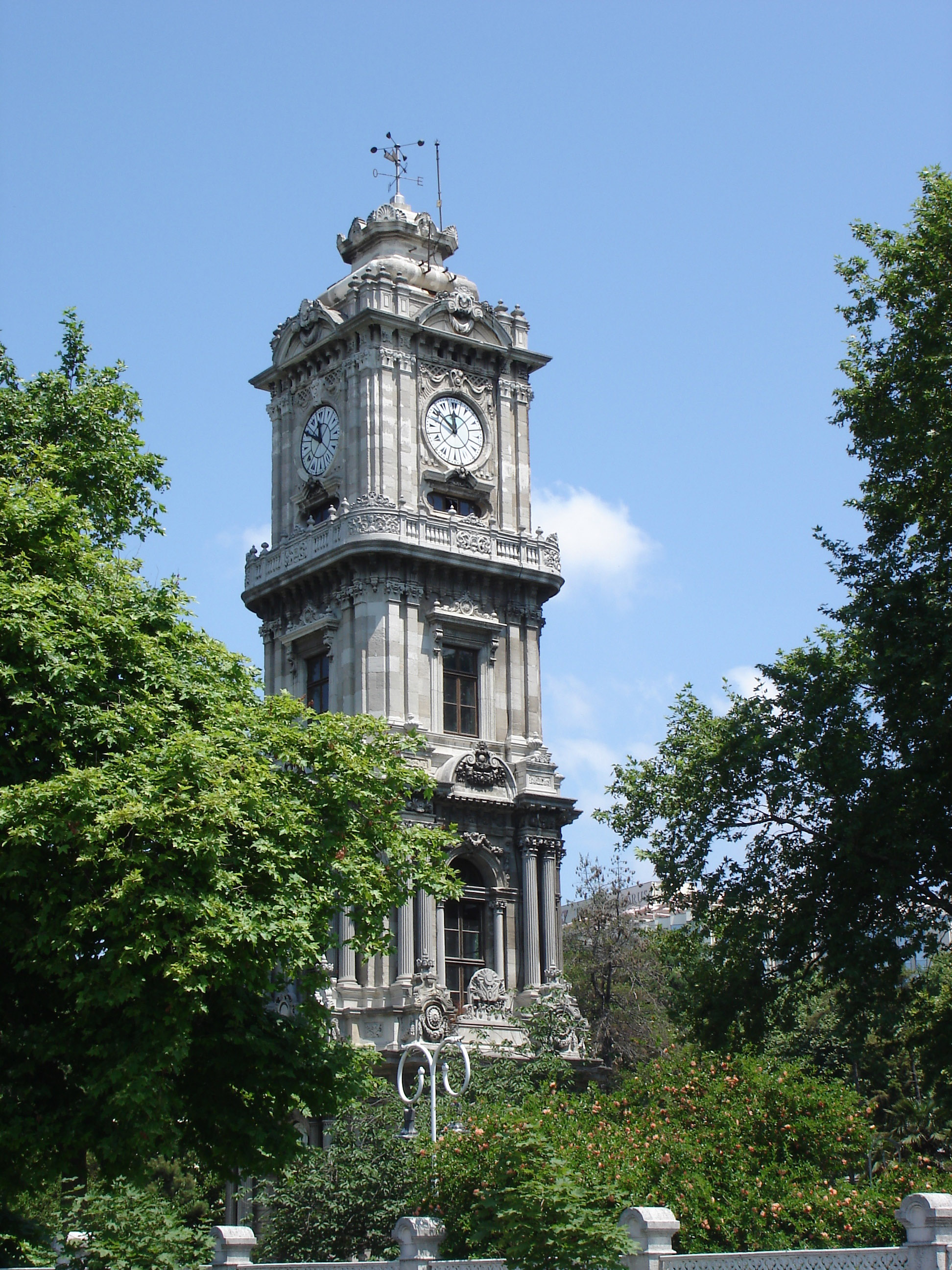 Free Stock Photo of Dolmabahçe Clock Tower in Istanbul ...