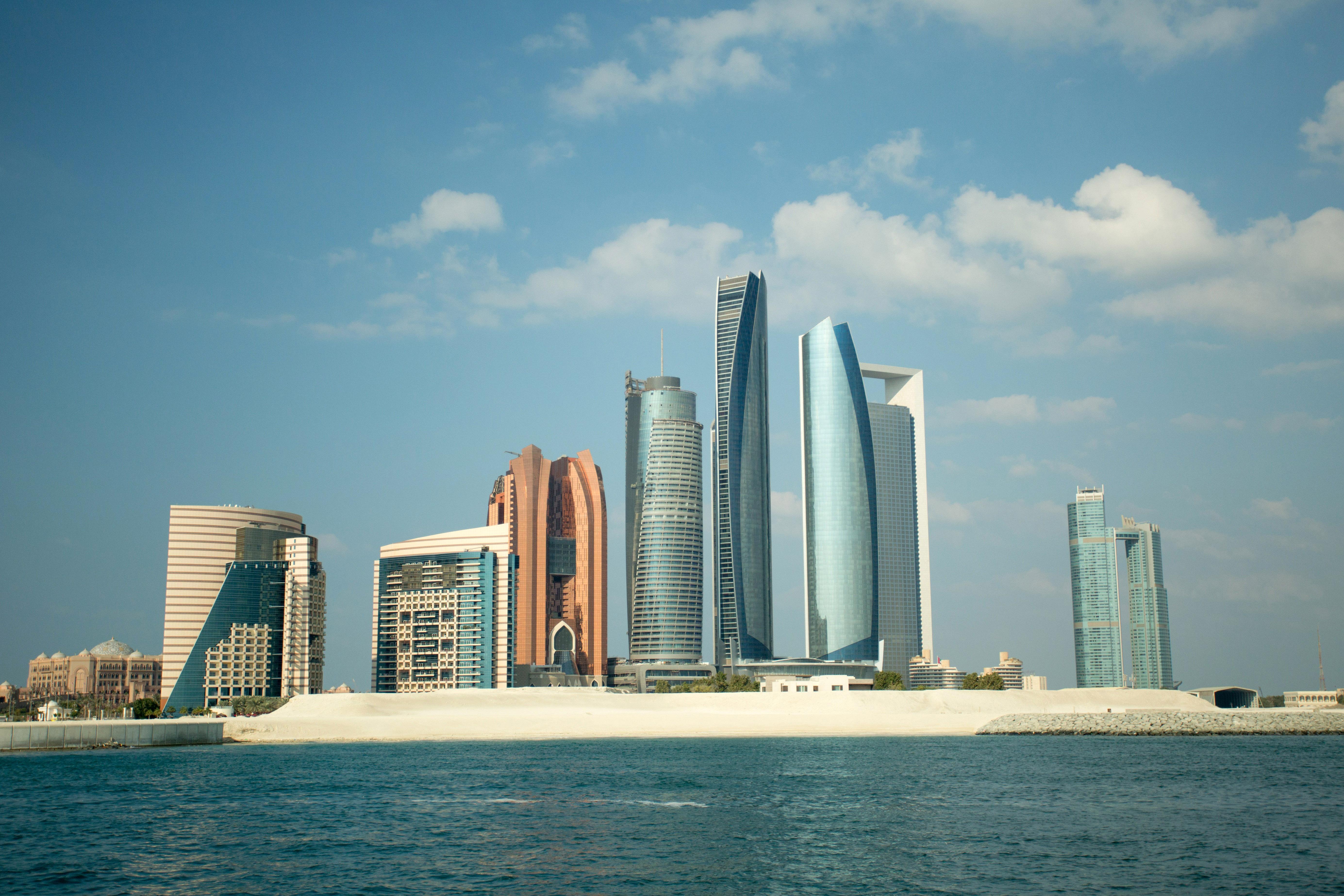 Etihad Towers Abu Dhabi, United Arab Emirates 5k Retina