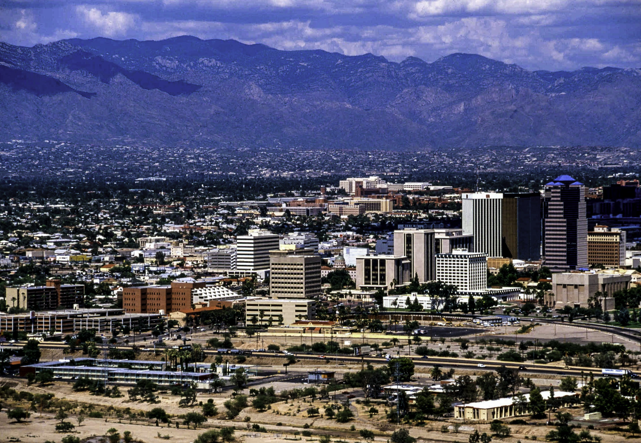 cityscape of tucson arizona - Tucson, AZ Bed Bug Lawyer