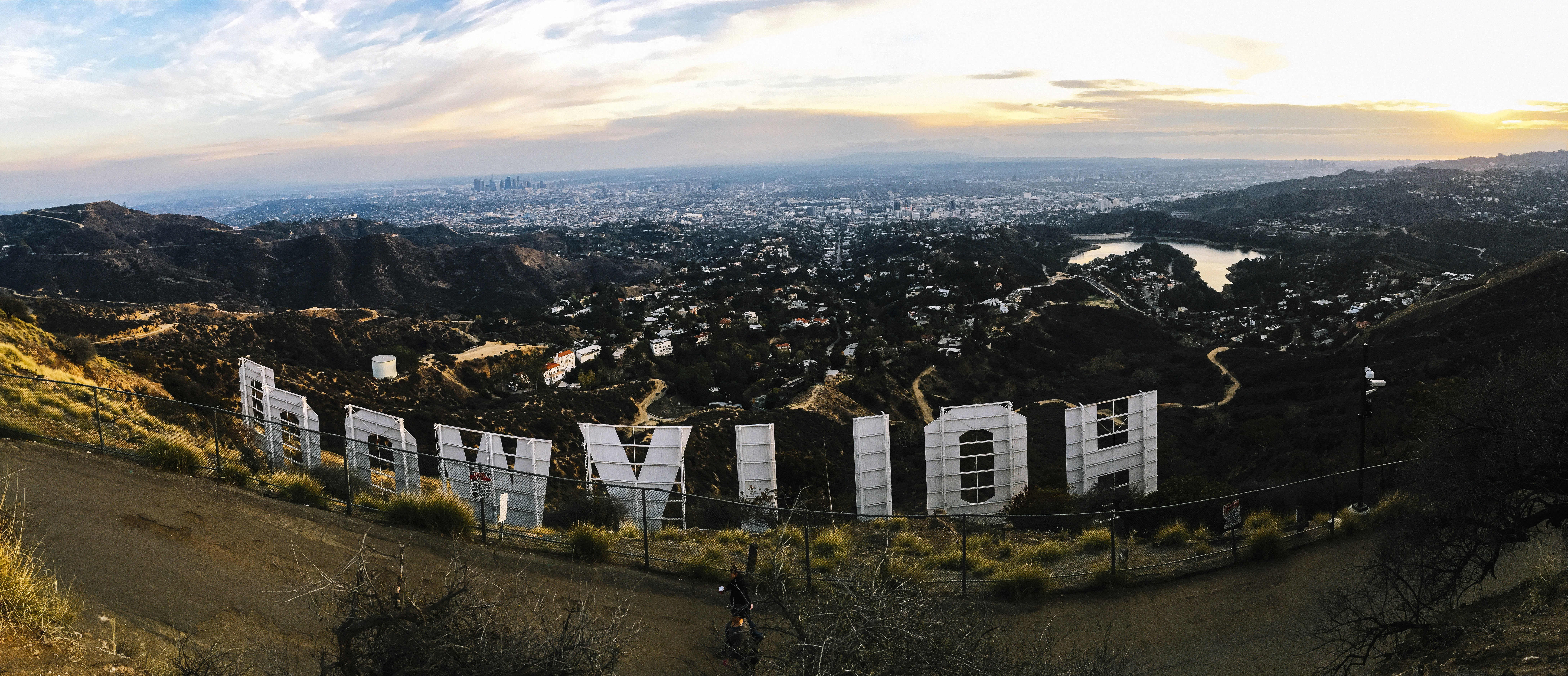 Hollywood Looking Down At Los Angeles California Image Free Stock Photo Public Domain Photo Cc0 Images