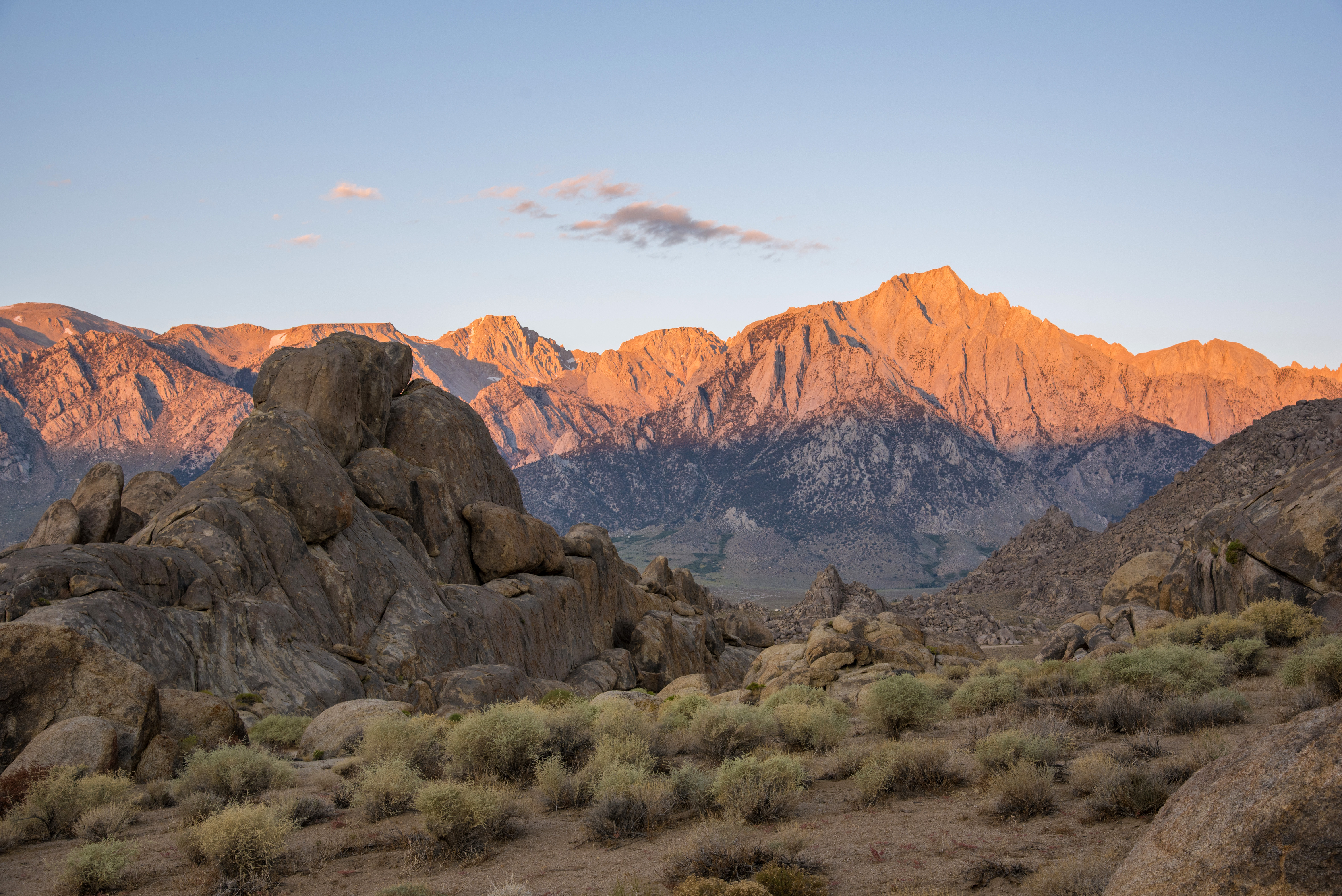 scenic landscape of the alabama hills in california image free
