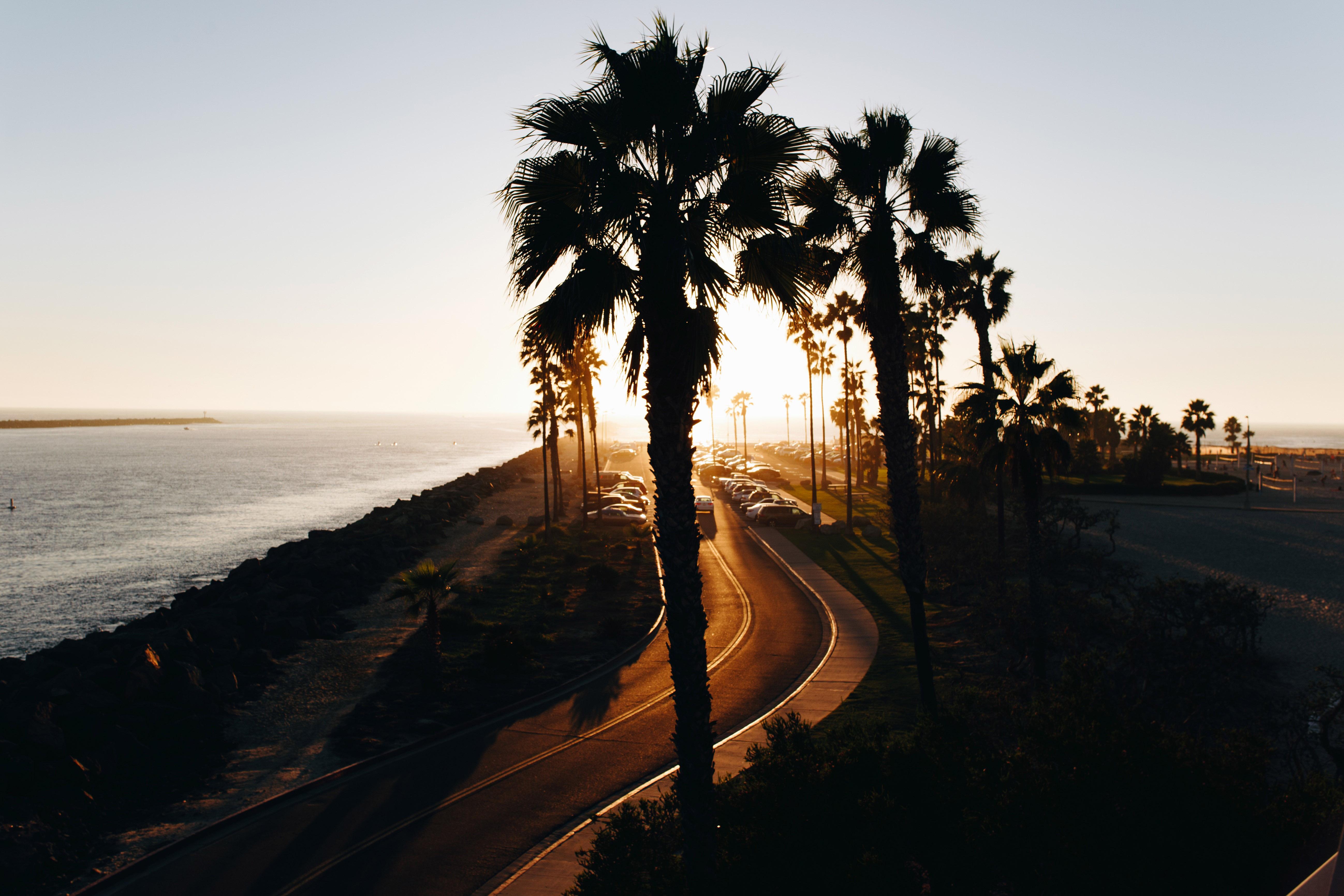 highway road landscape around san diego california image free