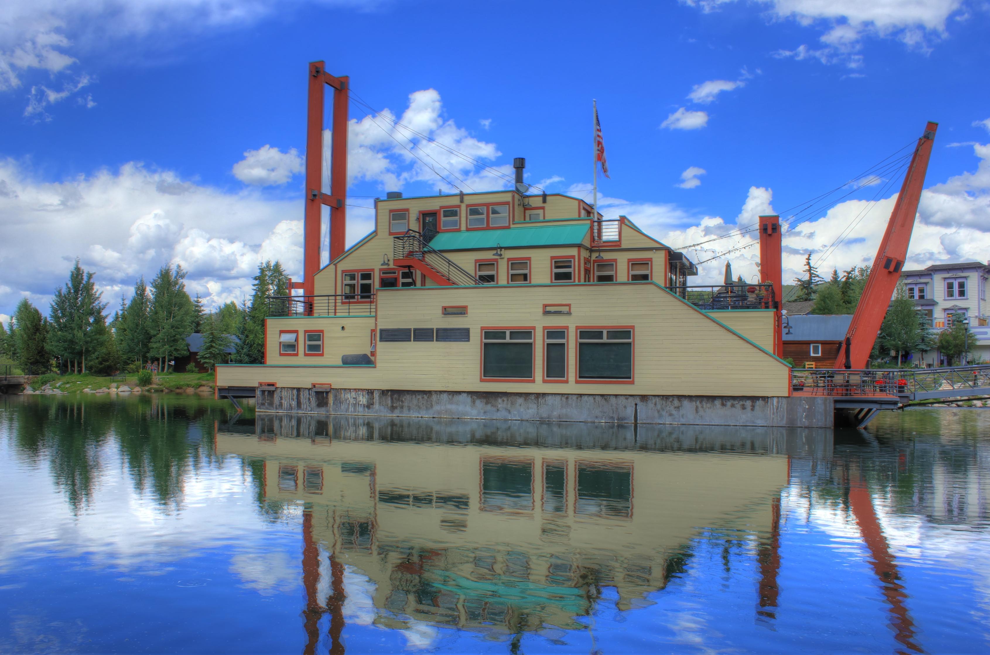 Floating Restaurant At Breckenridge Colorado Image Free