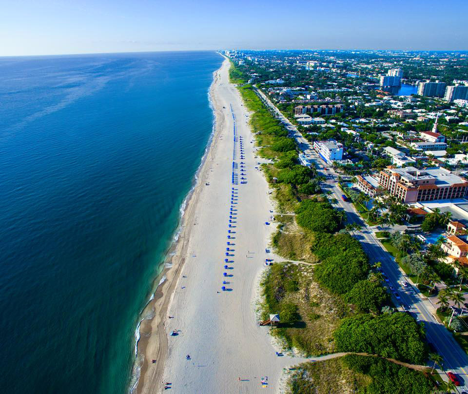 Delray Beach Fl 33444 Mail: Delray Beach And Seaside In Florida Image
