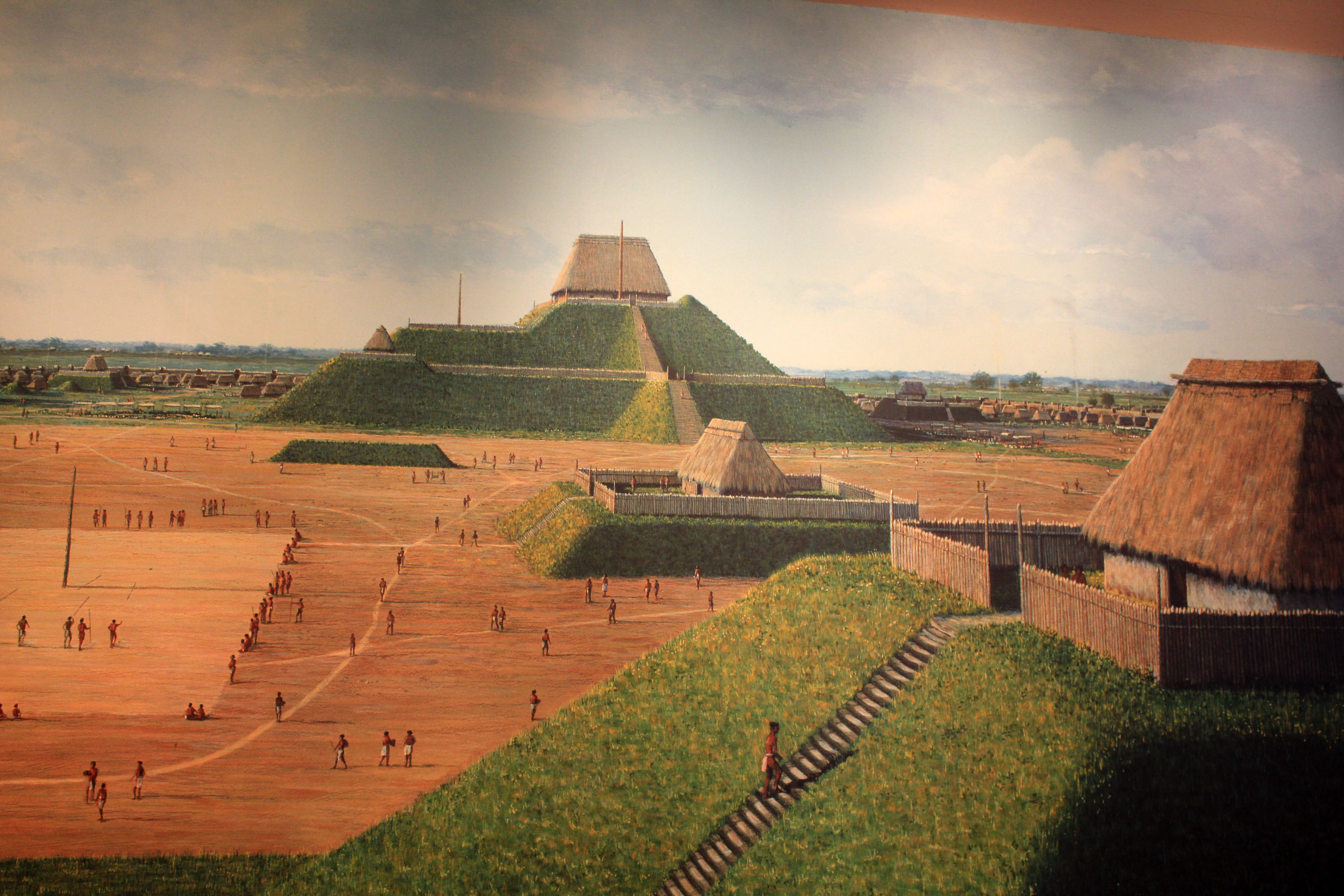the history of the mound builders of cahokia in ancient america