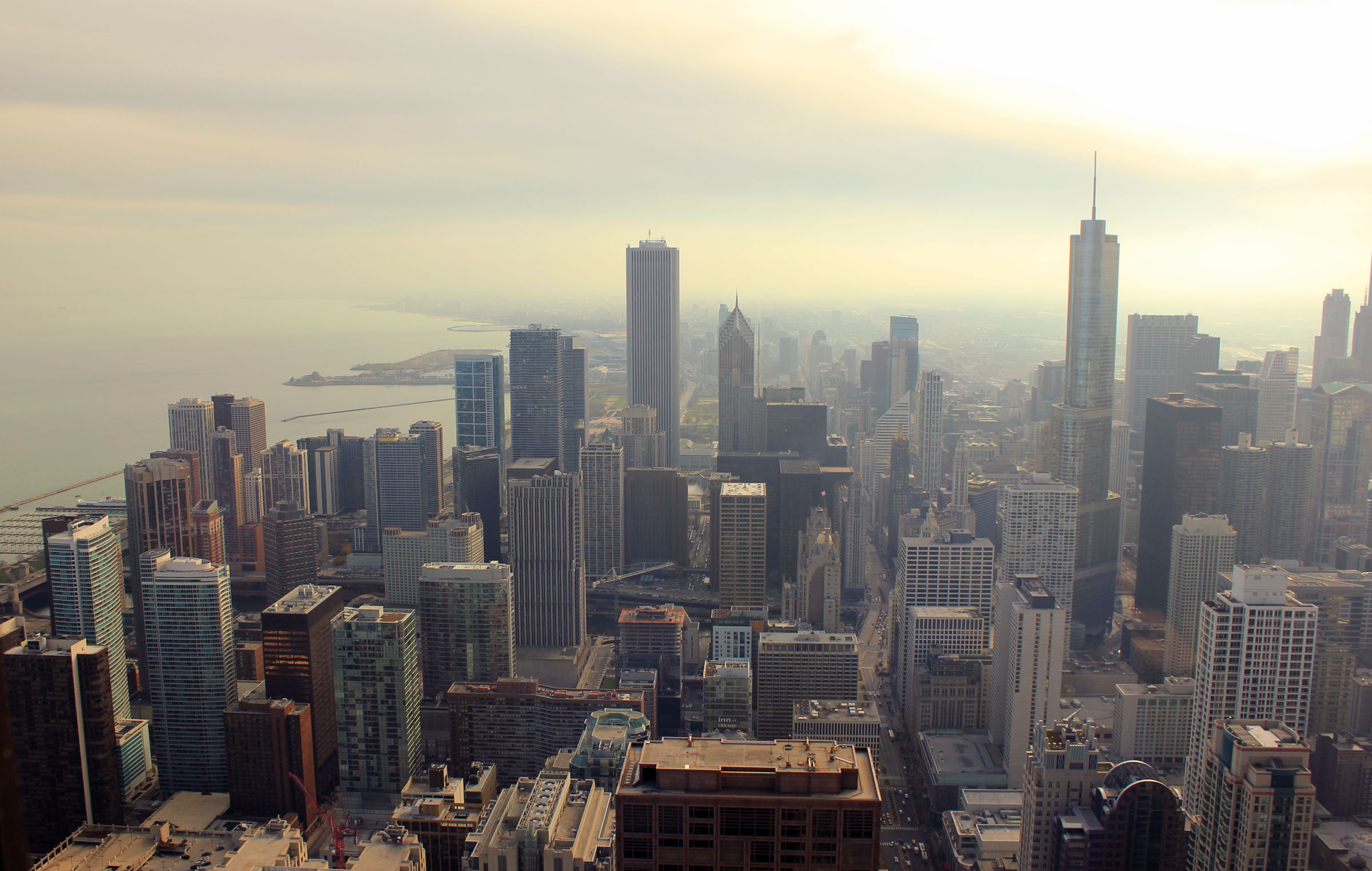 Free Stock of Sky view from Signature Room in Chicago