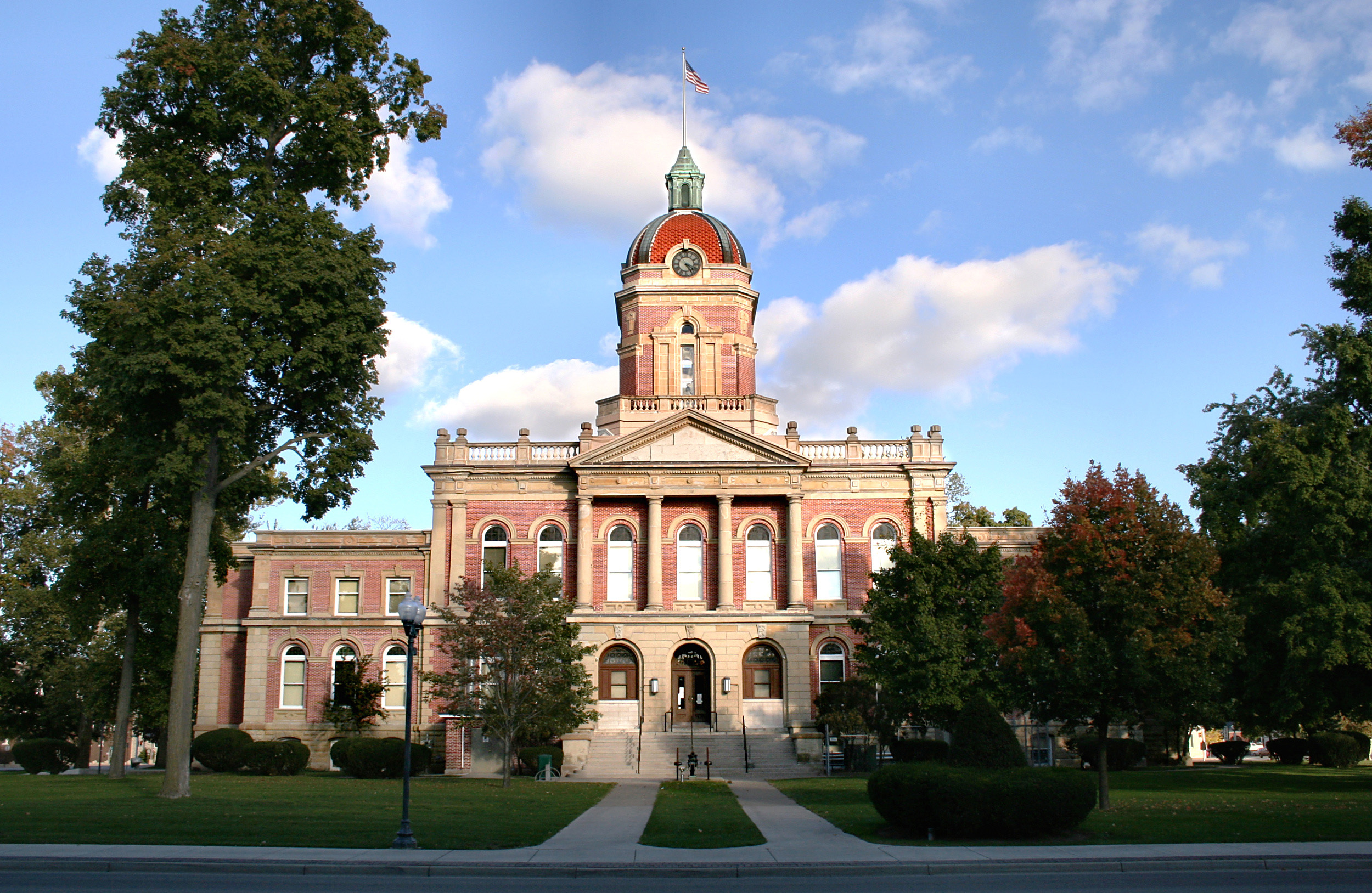 Wondrous Elkhart County Courthouse In Goshen Indiana Image Free Download Free Architecture Designs Scobabritishbridgeorg