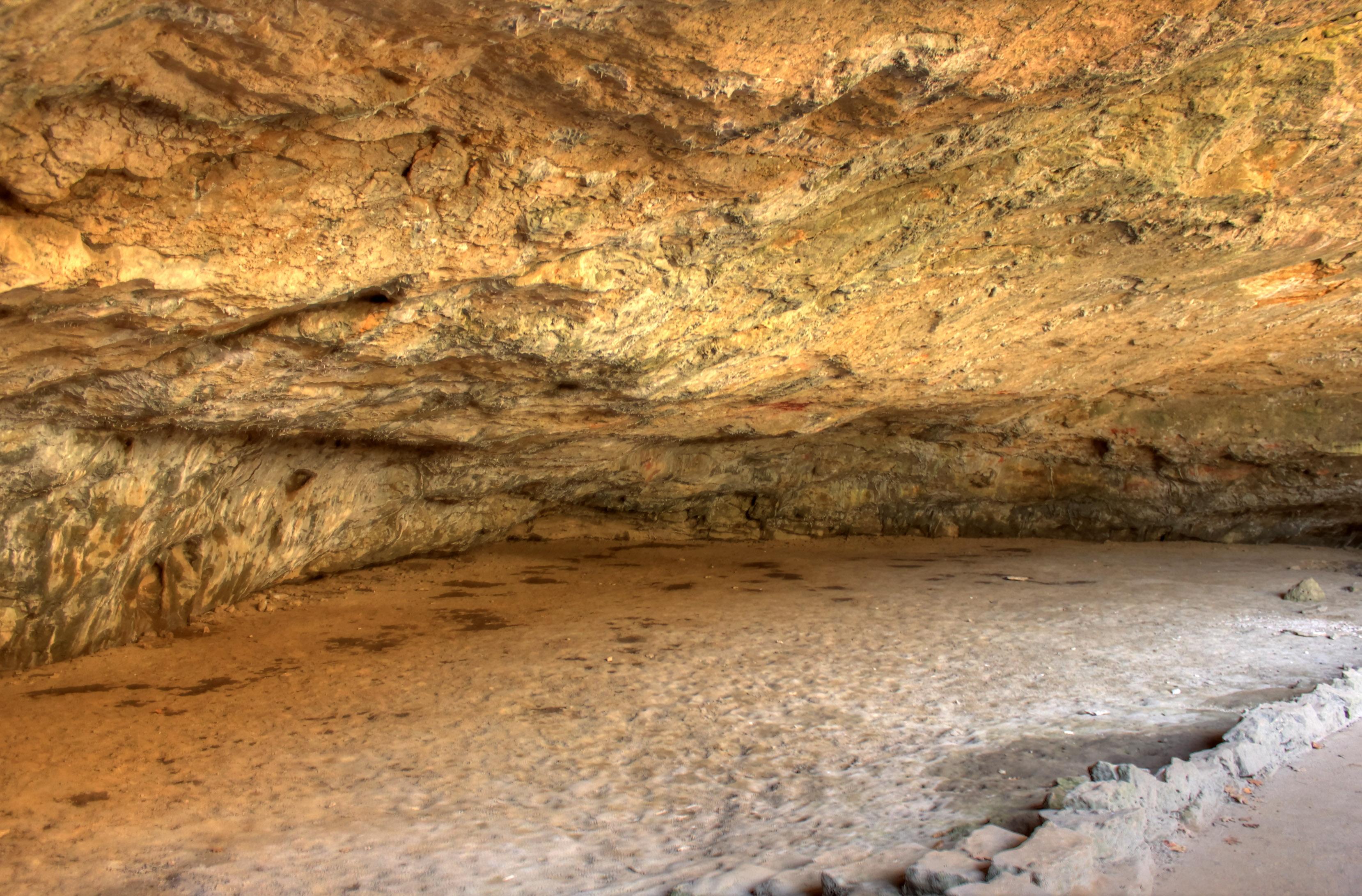 Small Cavern Room at Maquoketa State Park, Iowa image - Free stock ...