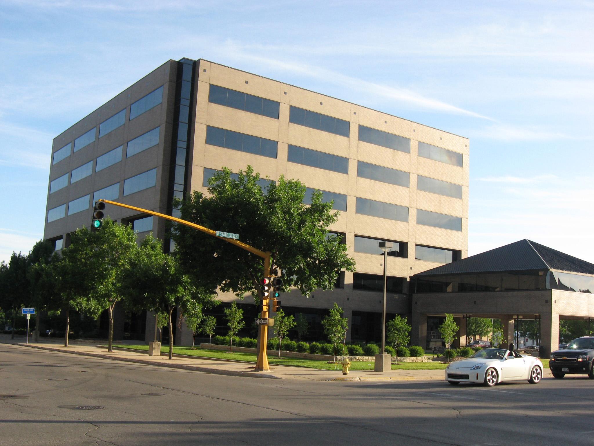 Principal Financial Group Building in Downtown Mason City ...