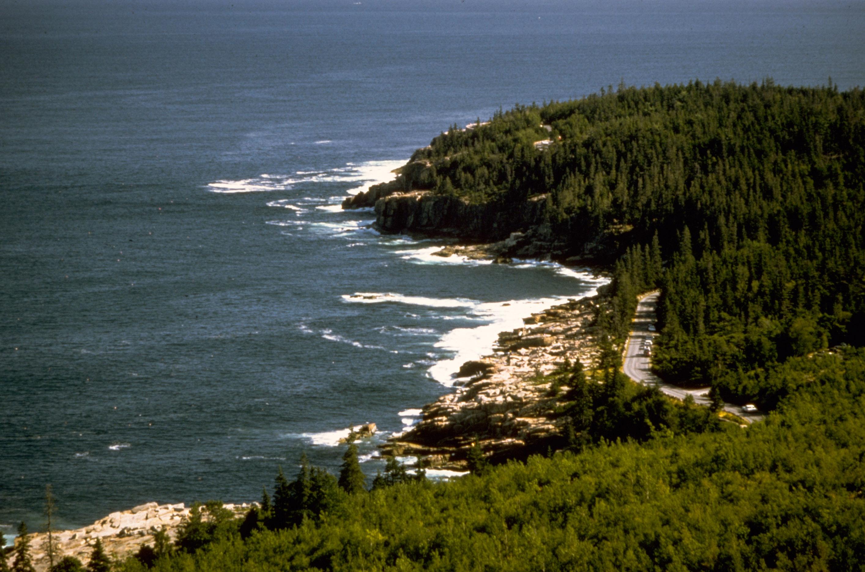 Harvard hgse computer tables flickr photo sharing - Shoreline Landscape At Acadia National Park Maine Photo By Nps Public Domain From Https Www Goodfreephotos Com